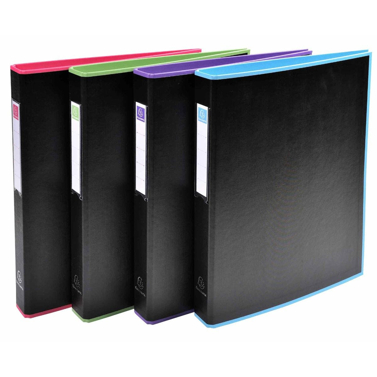 Click to view product details and reviews for Exacompta Black Office Ring Binder 2 Rings 30mm A4 Pack Of 10 Assorted.