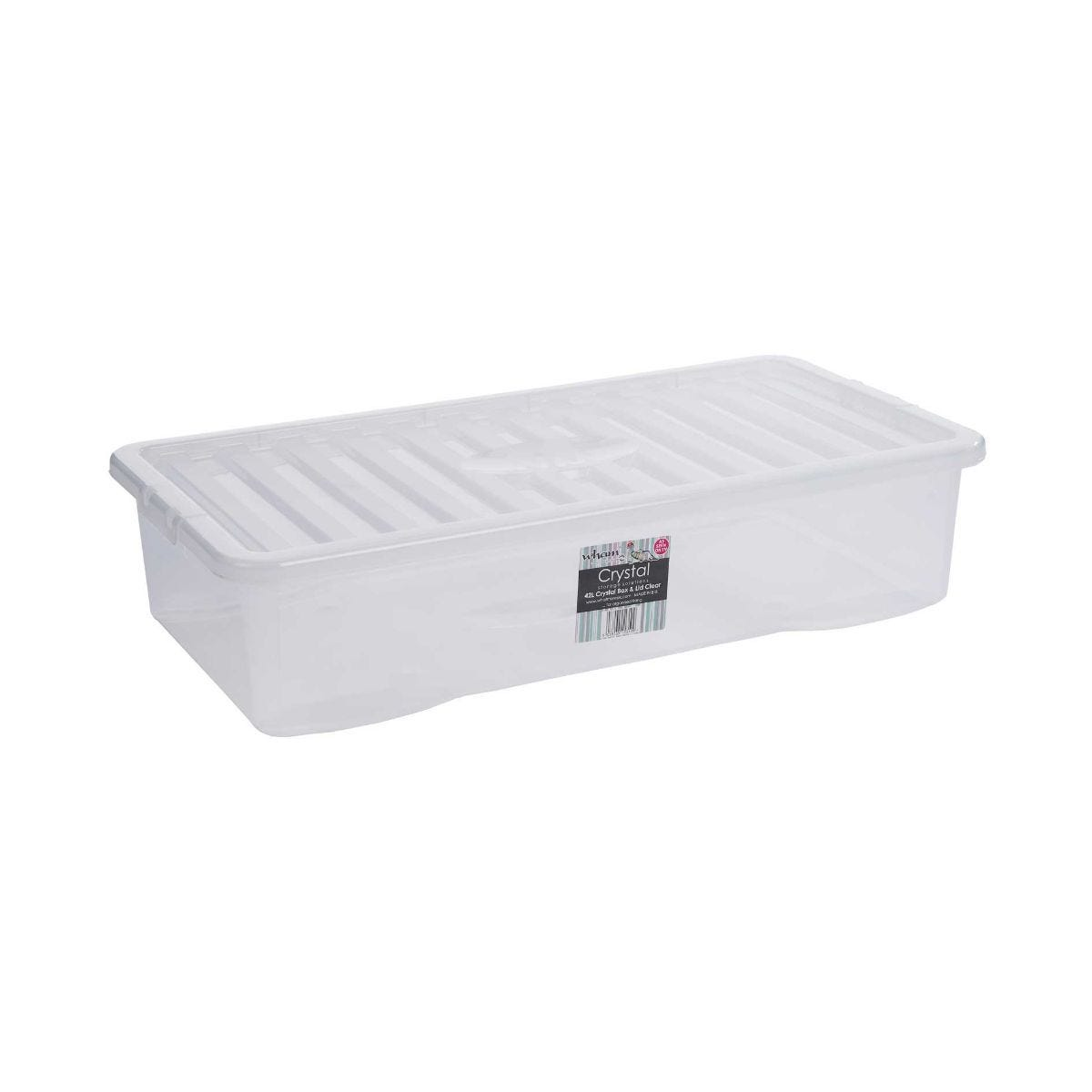 Image of 42 Litre Crystal Storage Box and Lid