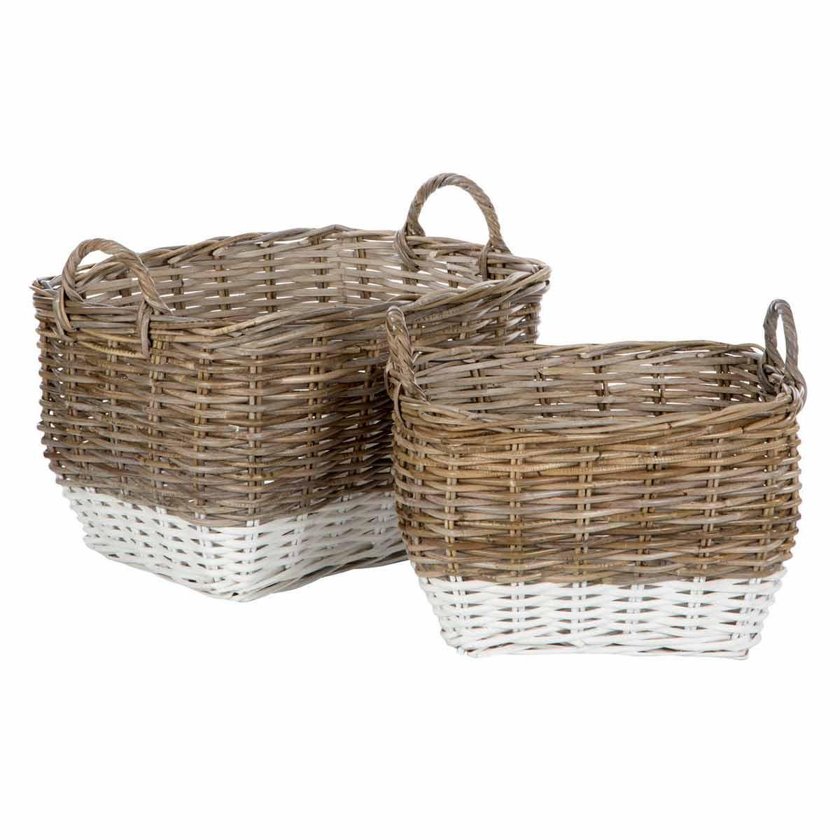 Hampstead Storage Baskets Set of 2