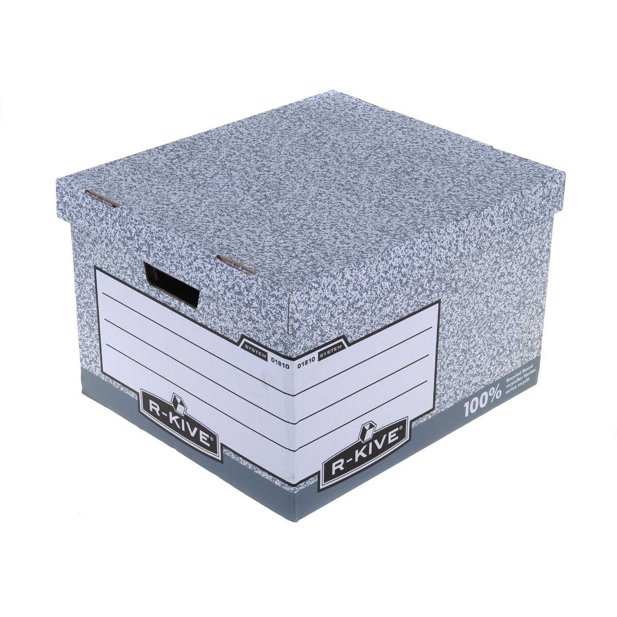 Image of Bankers Box by Fellowes System Large Storage Box with Fastfold