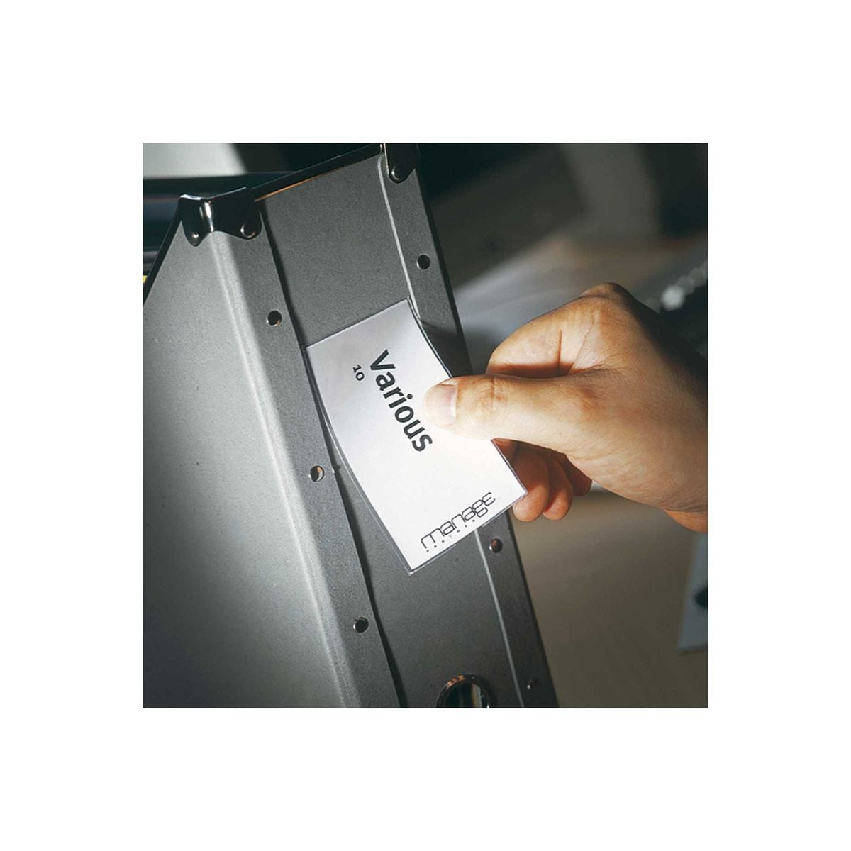 Image of 3L Self Adhesive Label Holders 55x150 Pack of 6
