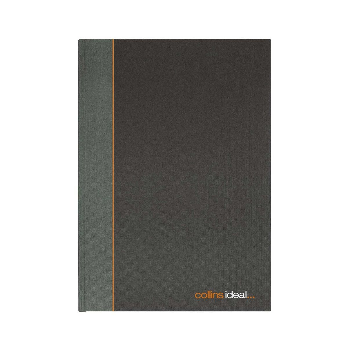 Collins Ideal Case Bound Single Cash Book A5, 461