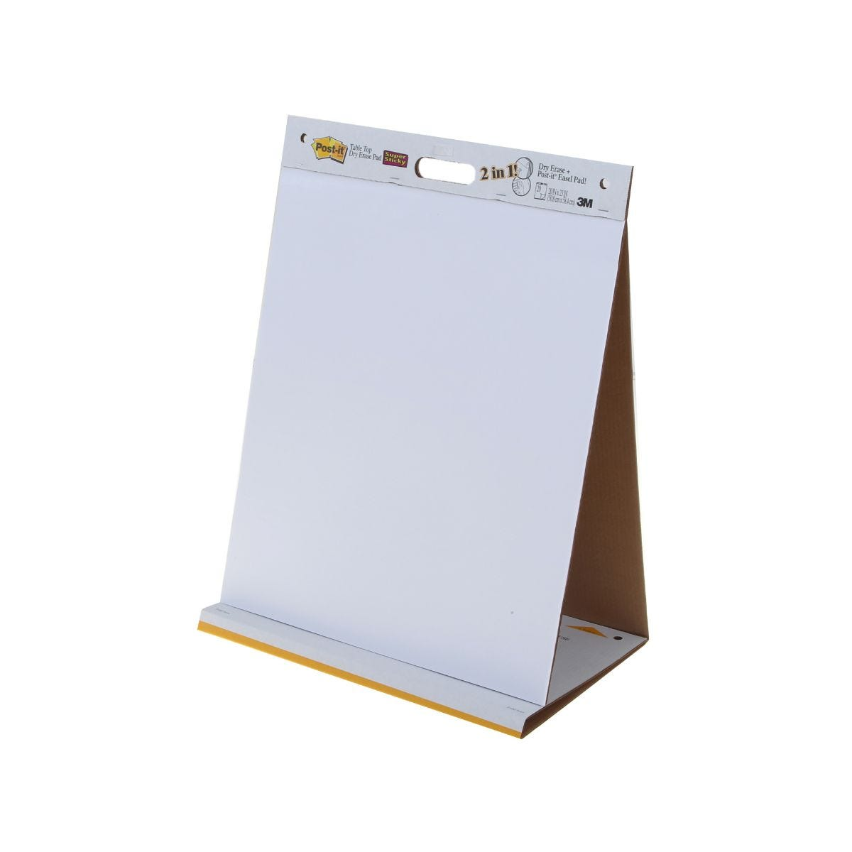 Image of 3M Post-it Tabletop Dual Easel 20 Sheets