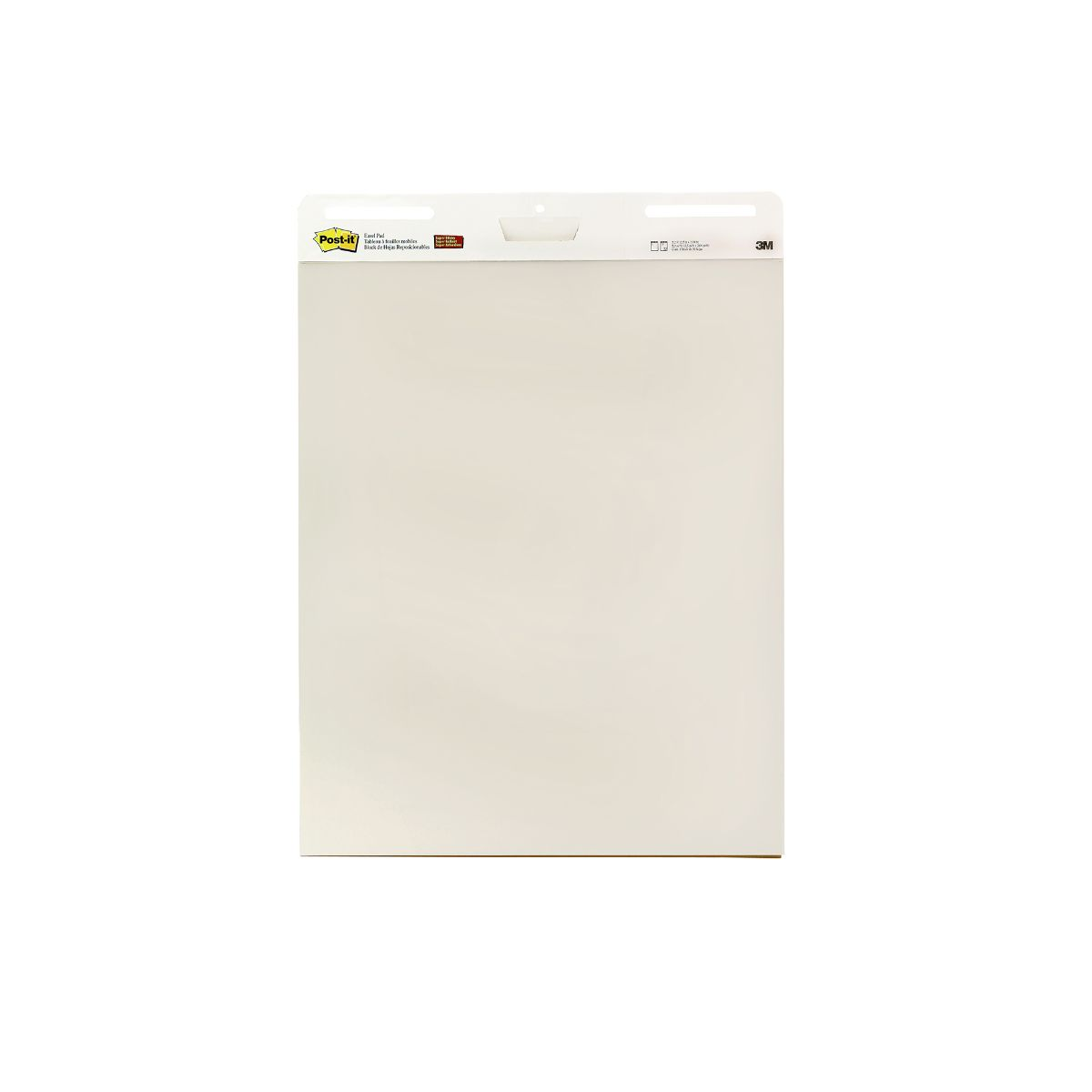 Post-it Meeting Chart Easel Pad Pack of 6, White.