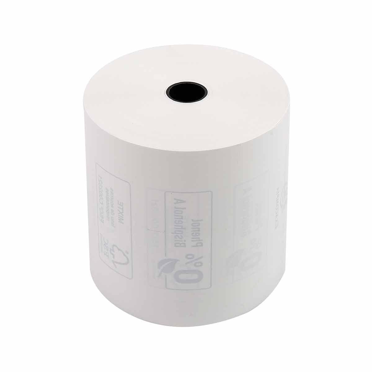 Exacompta Thermal Receipt Rolls Phenol-Free 80x80x12mm 3 Packs of 10