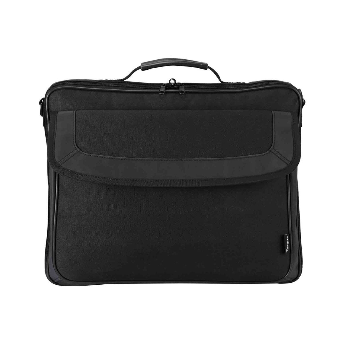Image of Targus Classic Clamshell Laptop Bag 15-15.6 Inch Black, Black