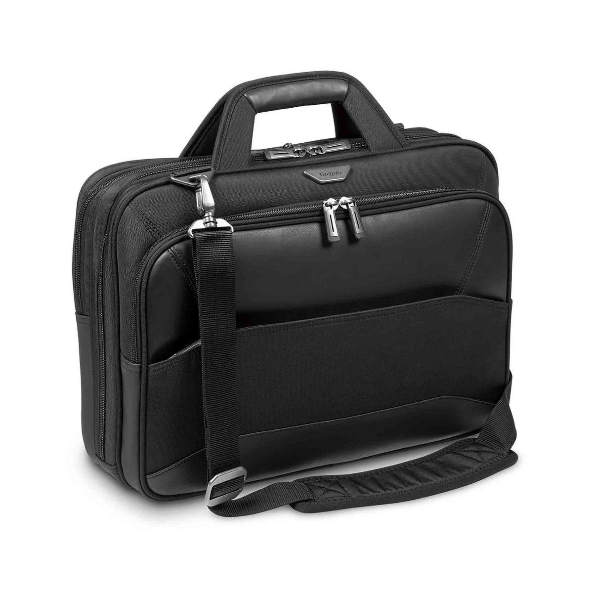 Image of Targus Mobile VIP Topload Laptop Case 15.6 Inch, Black