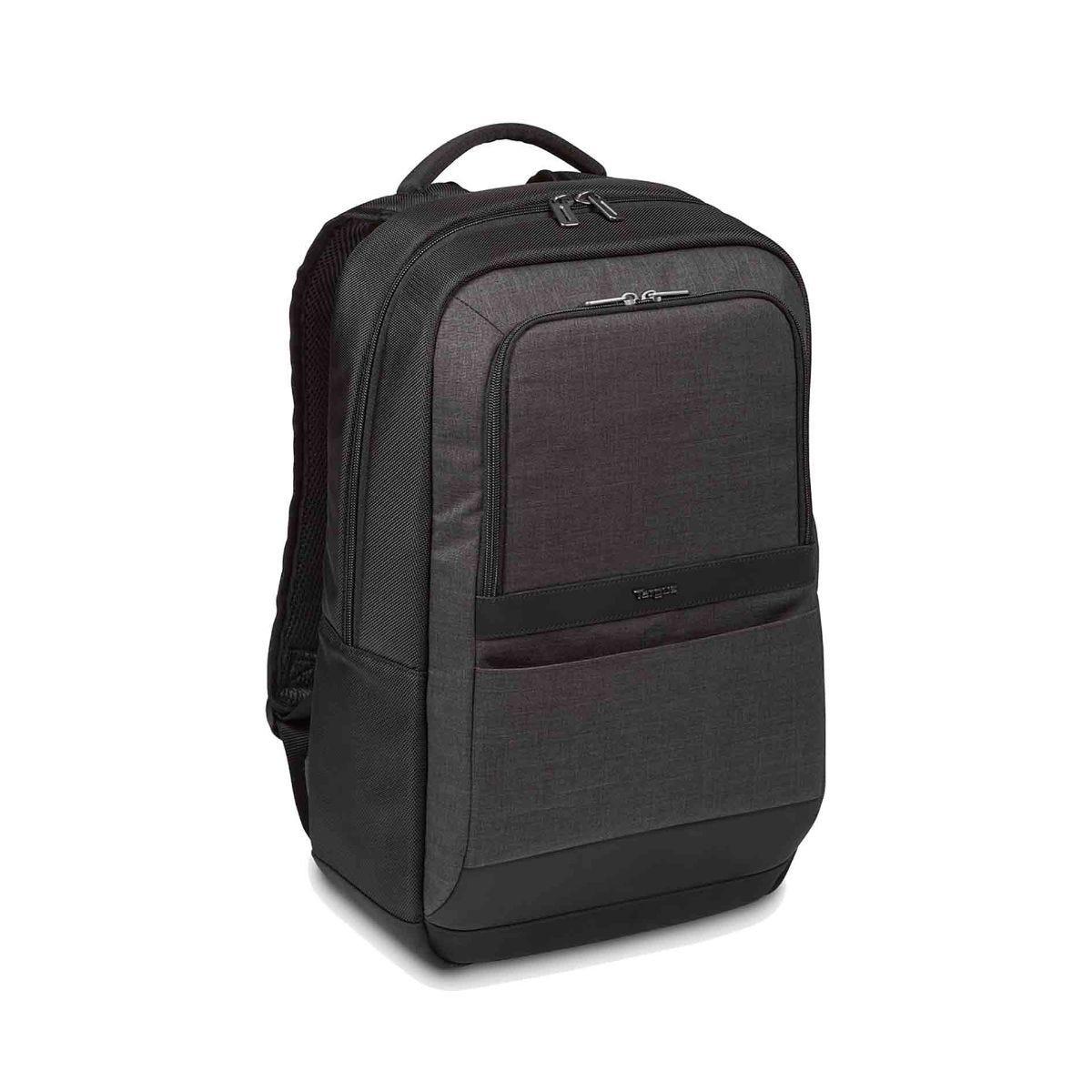 Image of Targus CitySmart Essential Laptop Backpack 15.6 Inch, Black/Grey
