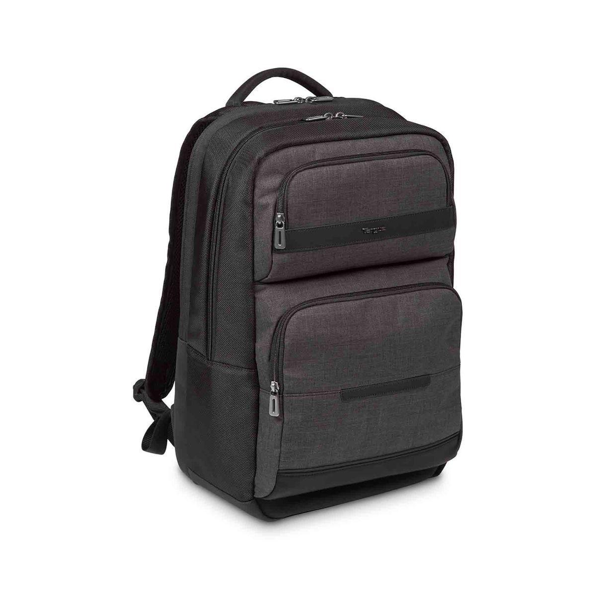 Image of Targus CitySmart Advanced Laptop Backpack 15.6 Inch, Black/Grey