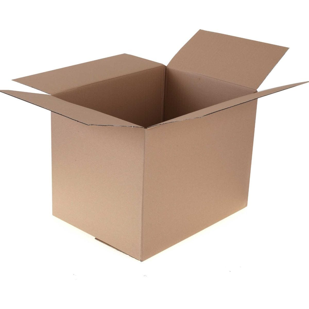Single Walled Packing Carton H 460xD 460xW 612mm Large