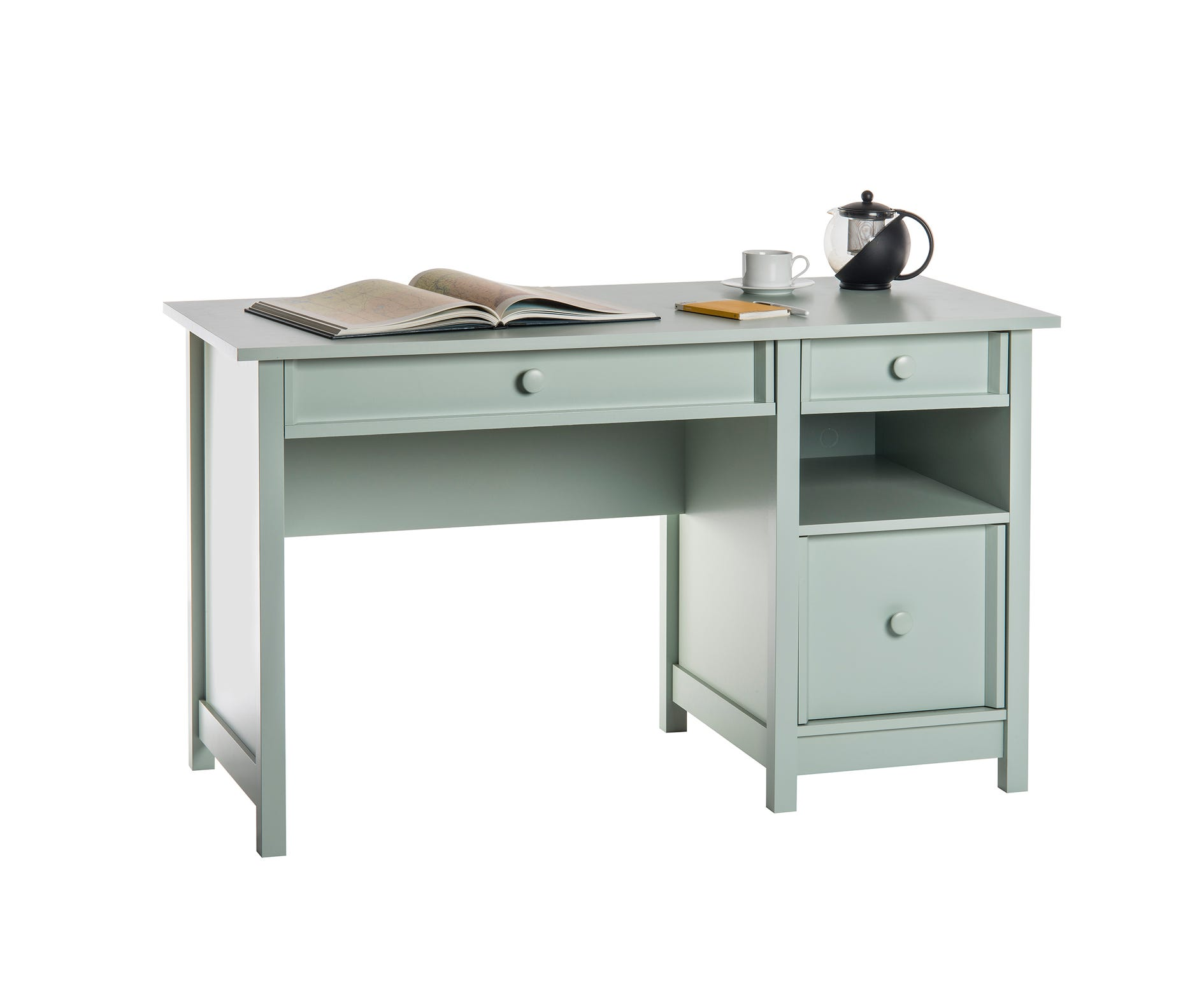 Cotswold Home Office Desk, Cottage Green