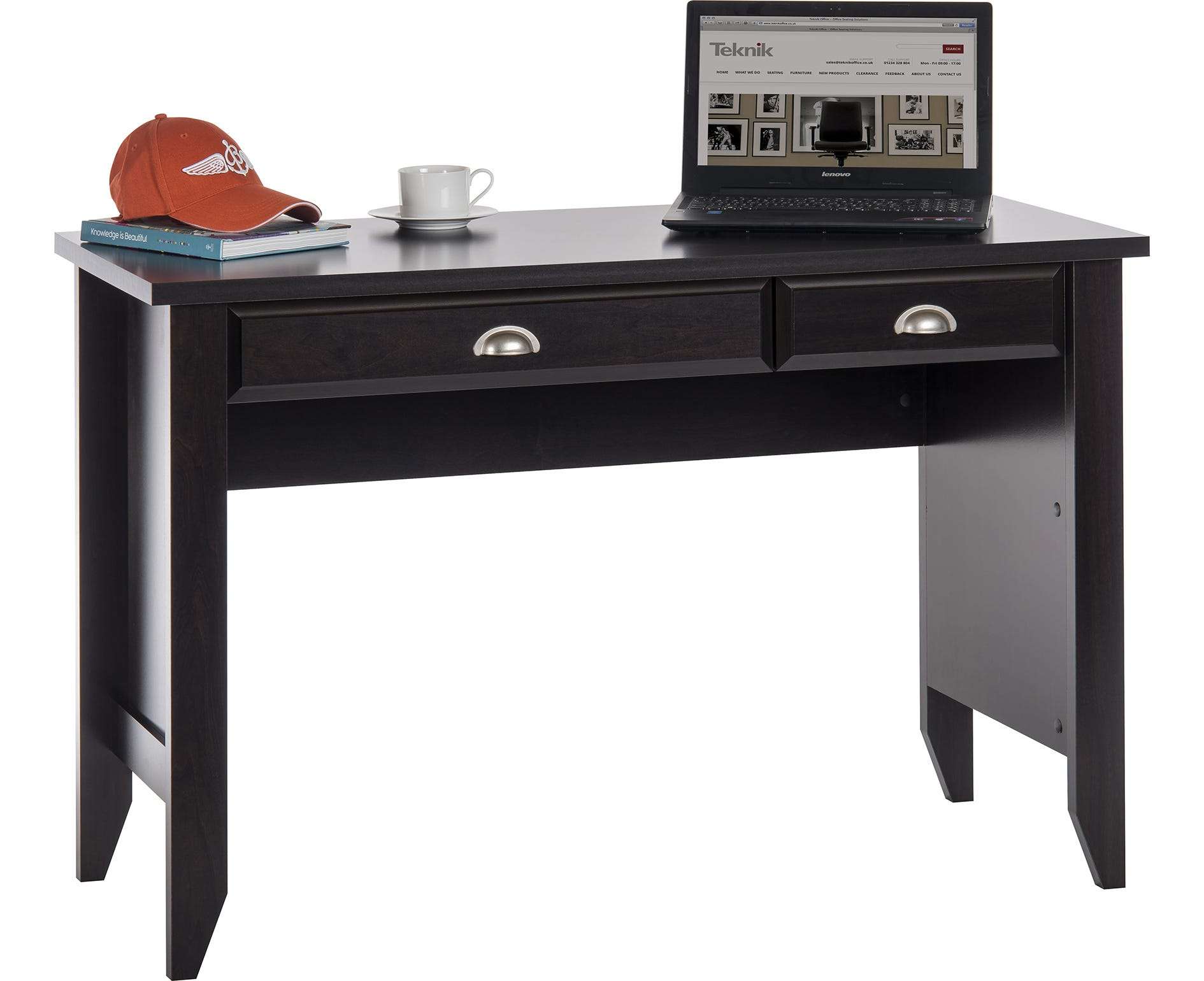 Home Office Laptop Desk, Jamocha Wood