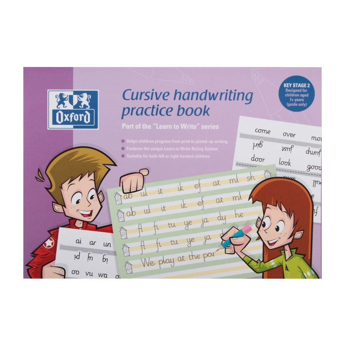 Cursive Writing Oxford Practice Book Children Aged 7 Plus