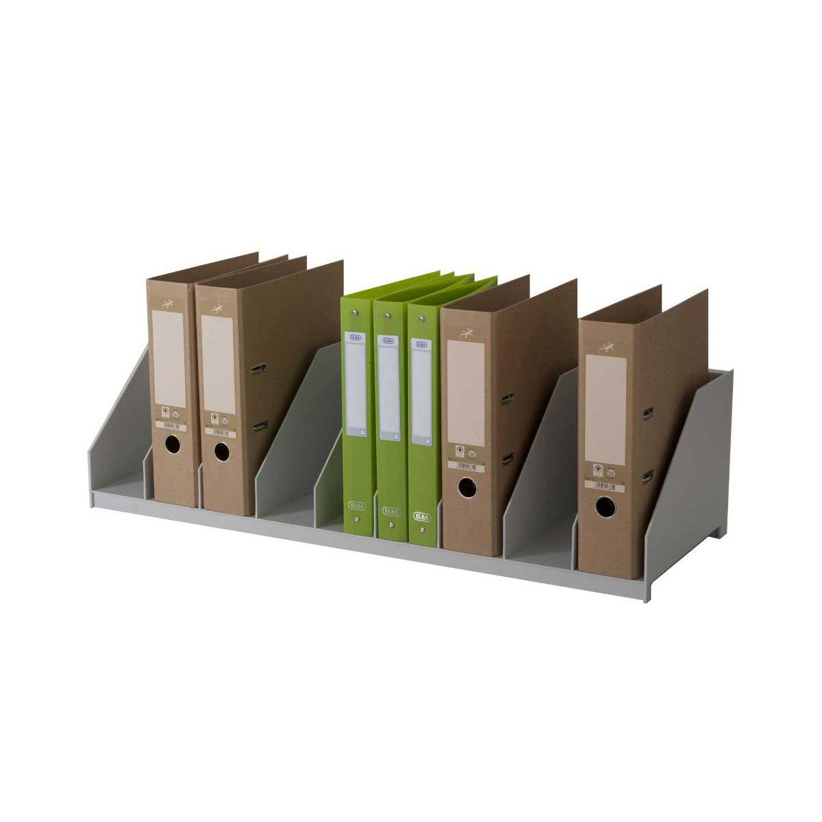 Easy Office Lever Arch File Holder Grey Wordpoint