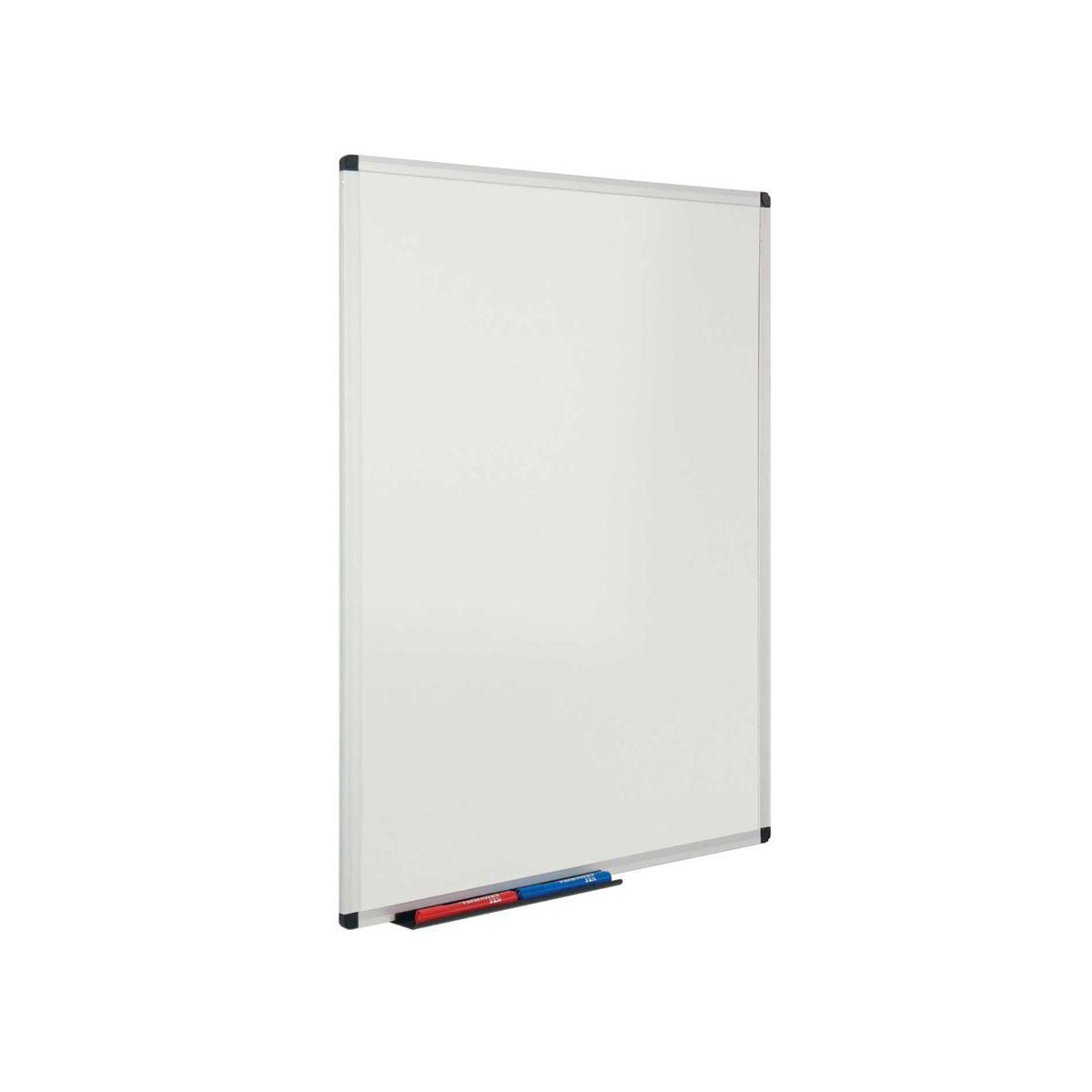 MetroplanDry Wipe Board Double Sided 900x600mm Aluminium.