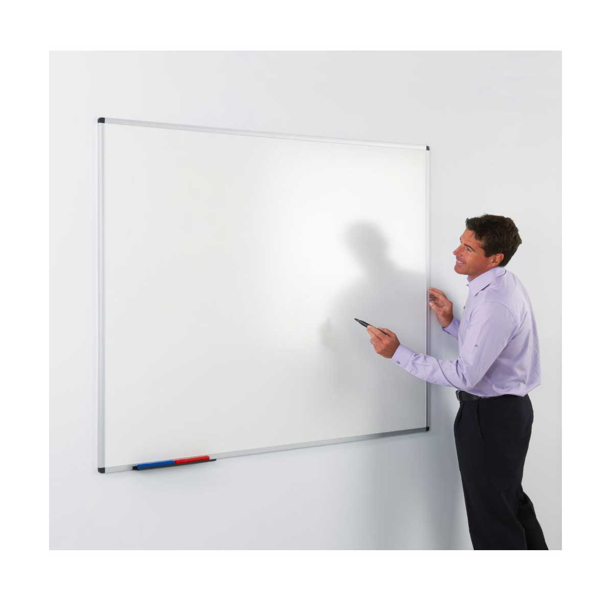 Write-on Magnetic Whiteboard 1200mm x 1500mm.