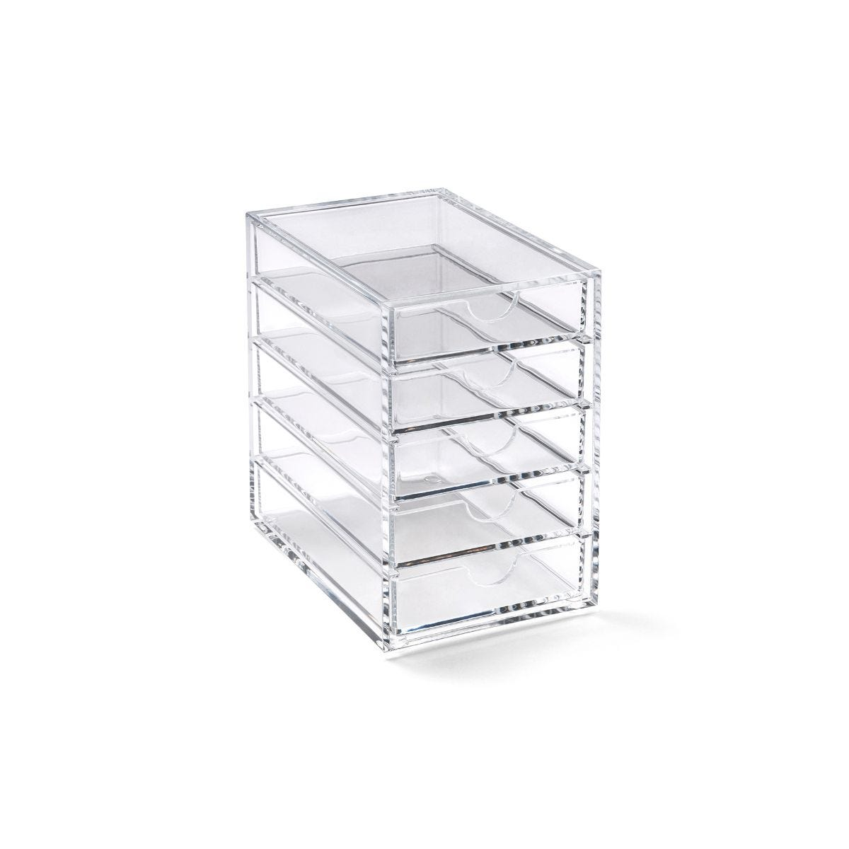 Superb Acrylic 5 Drawer Storage Box Download Free Architecture Designs Rallybritishbridgeorg