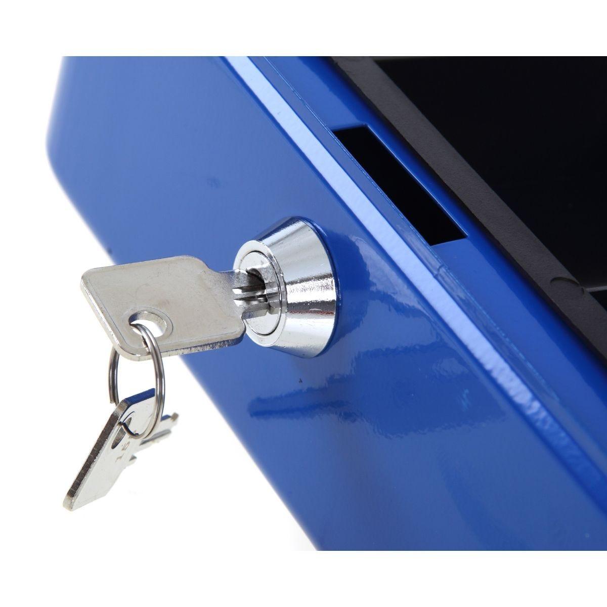 Ryman Button Release Cash Box H90xW200xD170mm