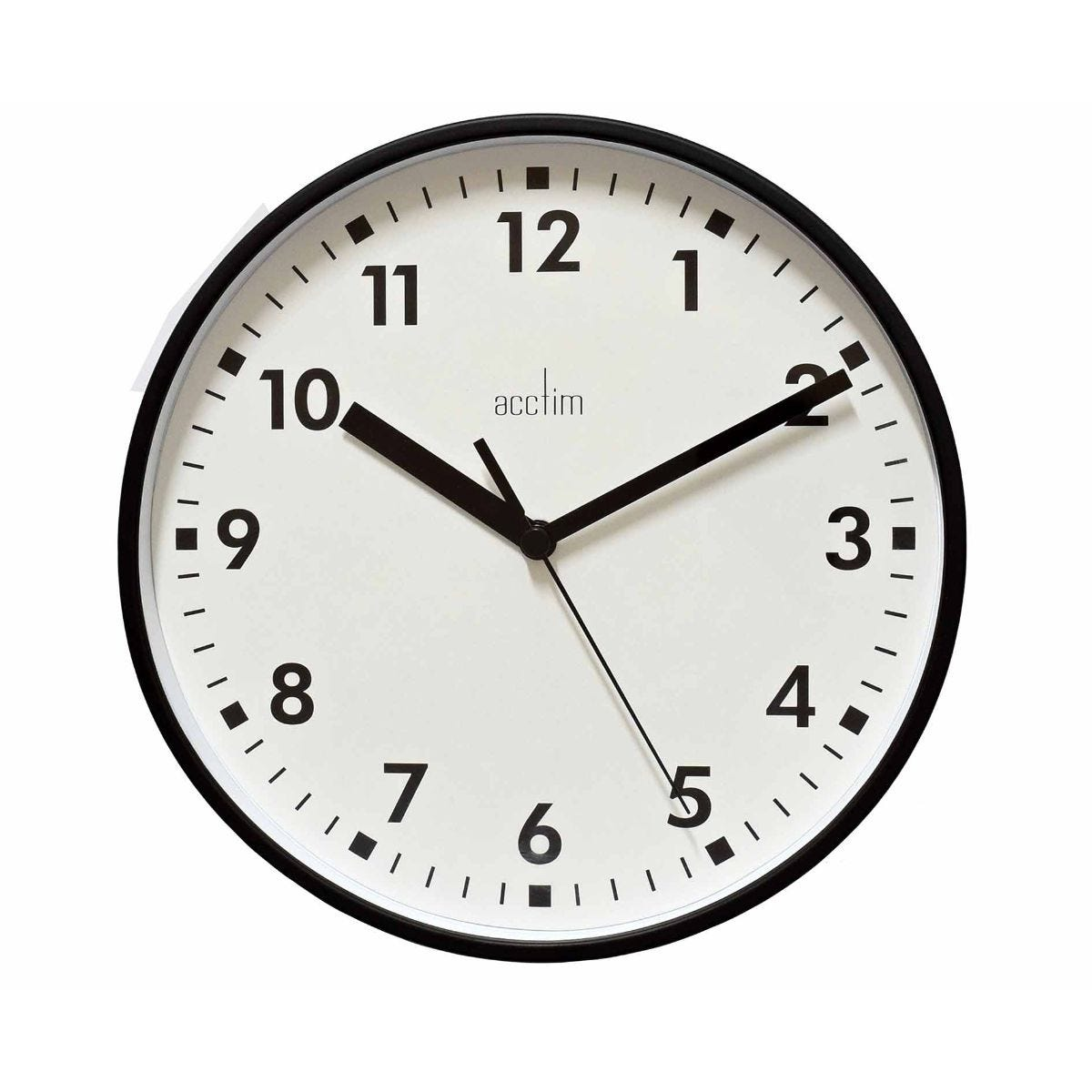 Image of Acctim Wickford Wall Clock, Coal