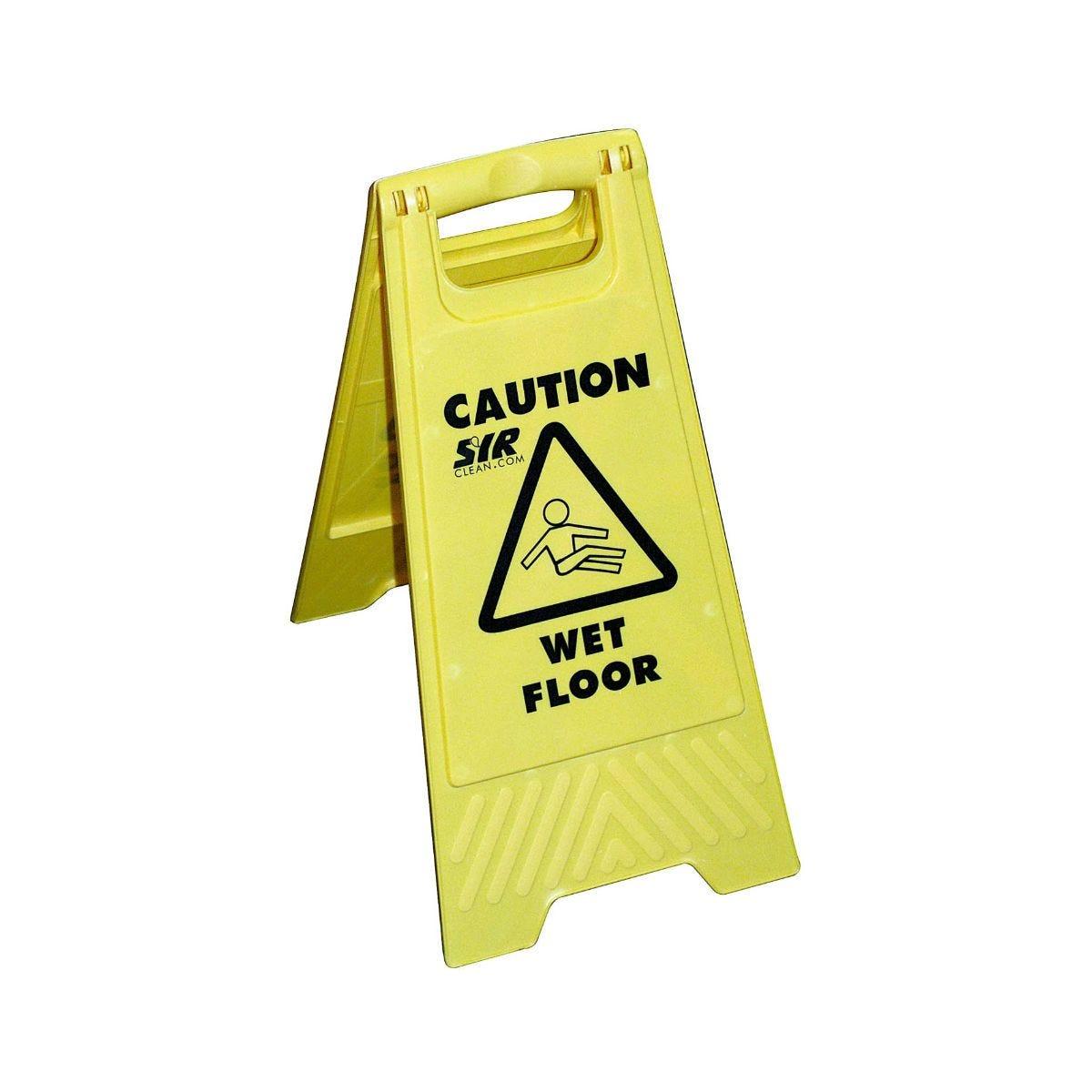 Image of Wet Floor Sign A Type