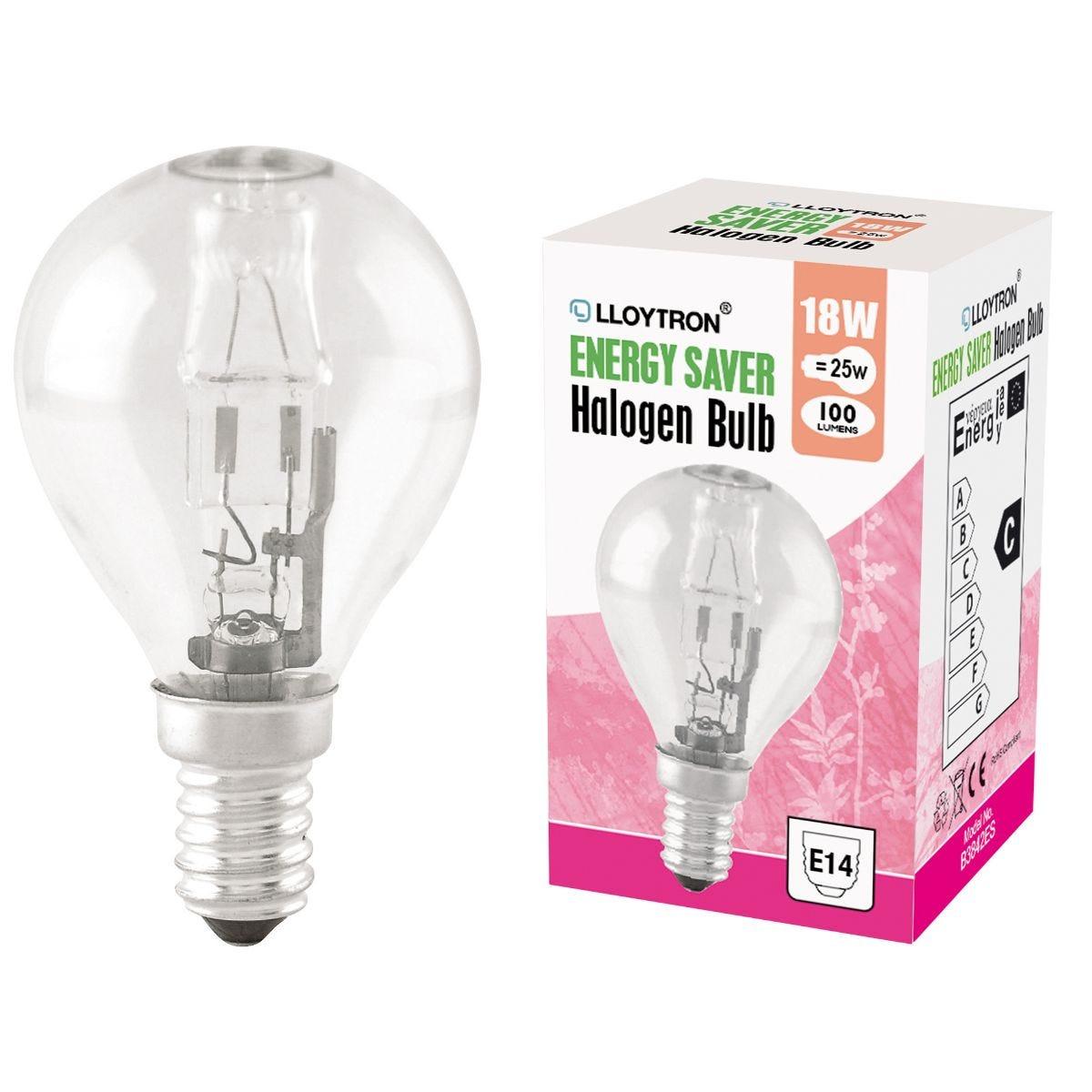 Halogen Incandescent Bulb E14 18W