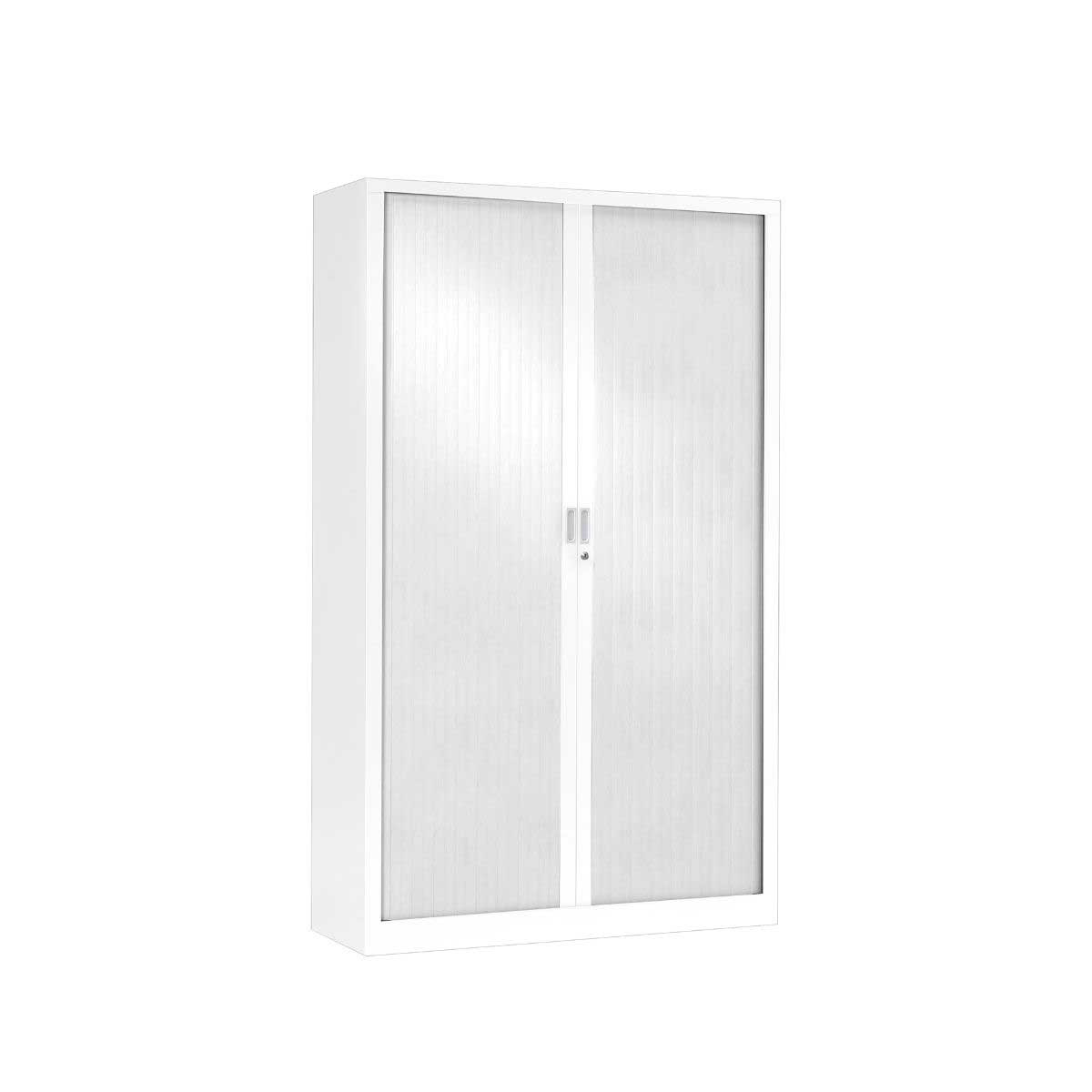 Generic Tambour Cupboard Height 1980mm, White