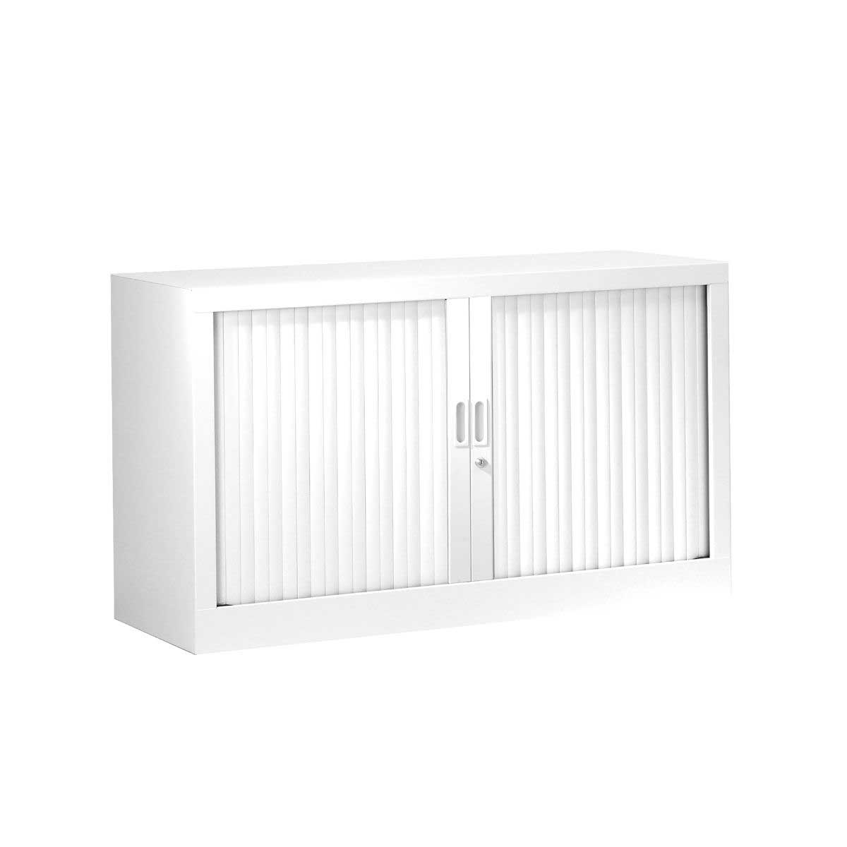 Generic Tambour Cupboard Height 695mm, White
