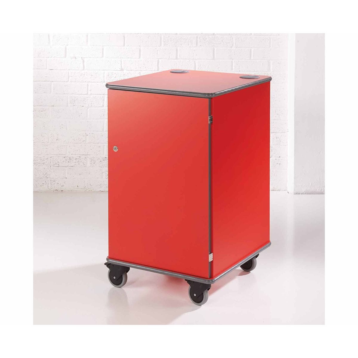 Metroplan Multi-Media Projector Cabinet, Red