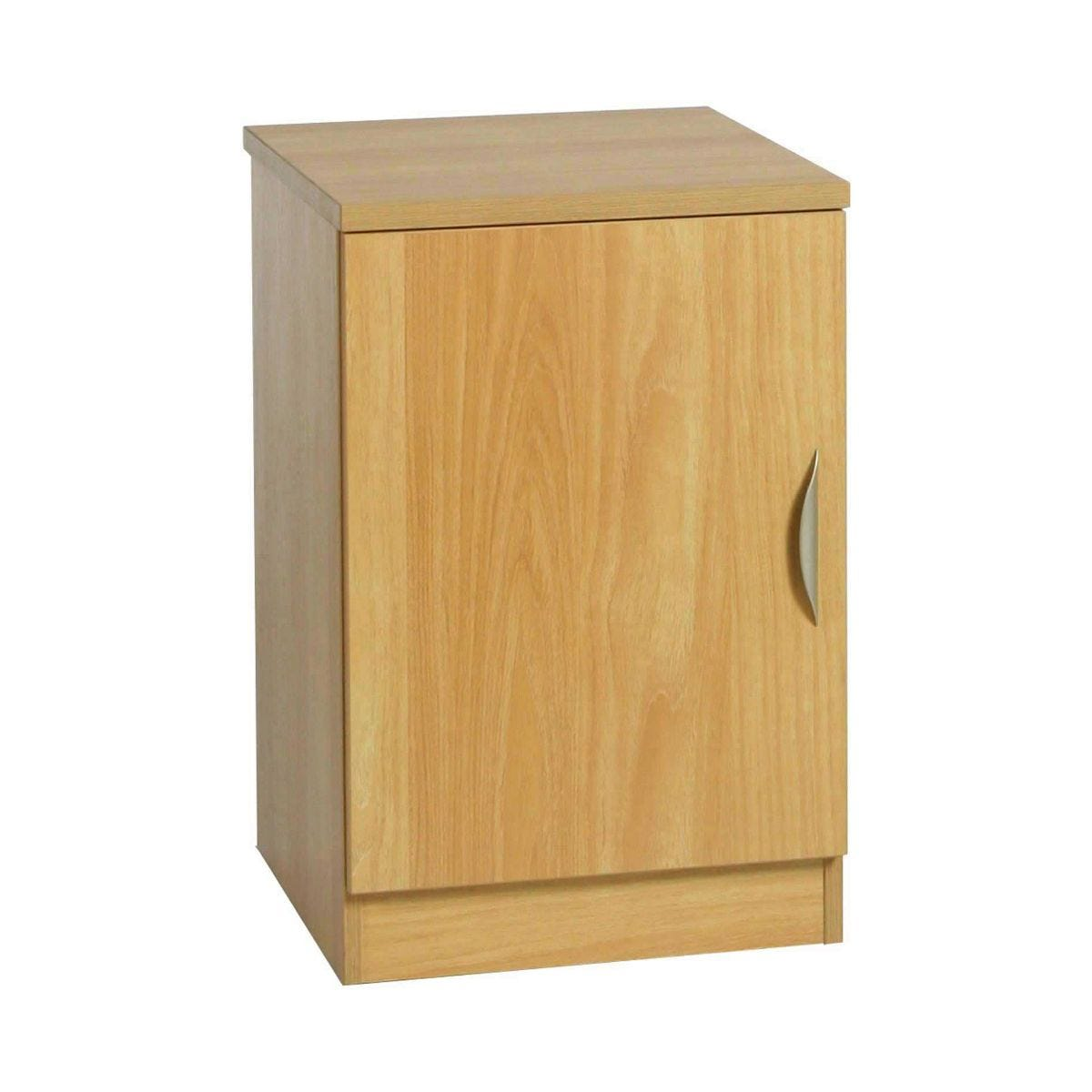 R White Single Cupboard B-C48 H728xW479xD540mm, Classic Oak