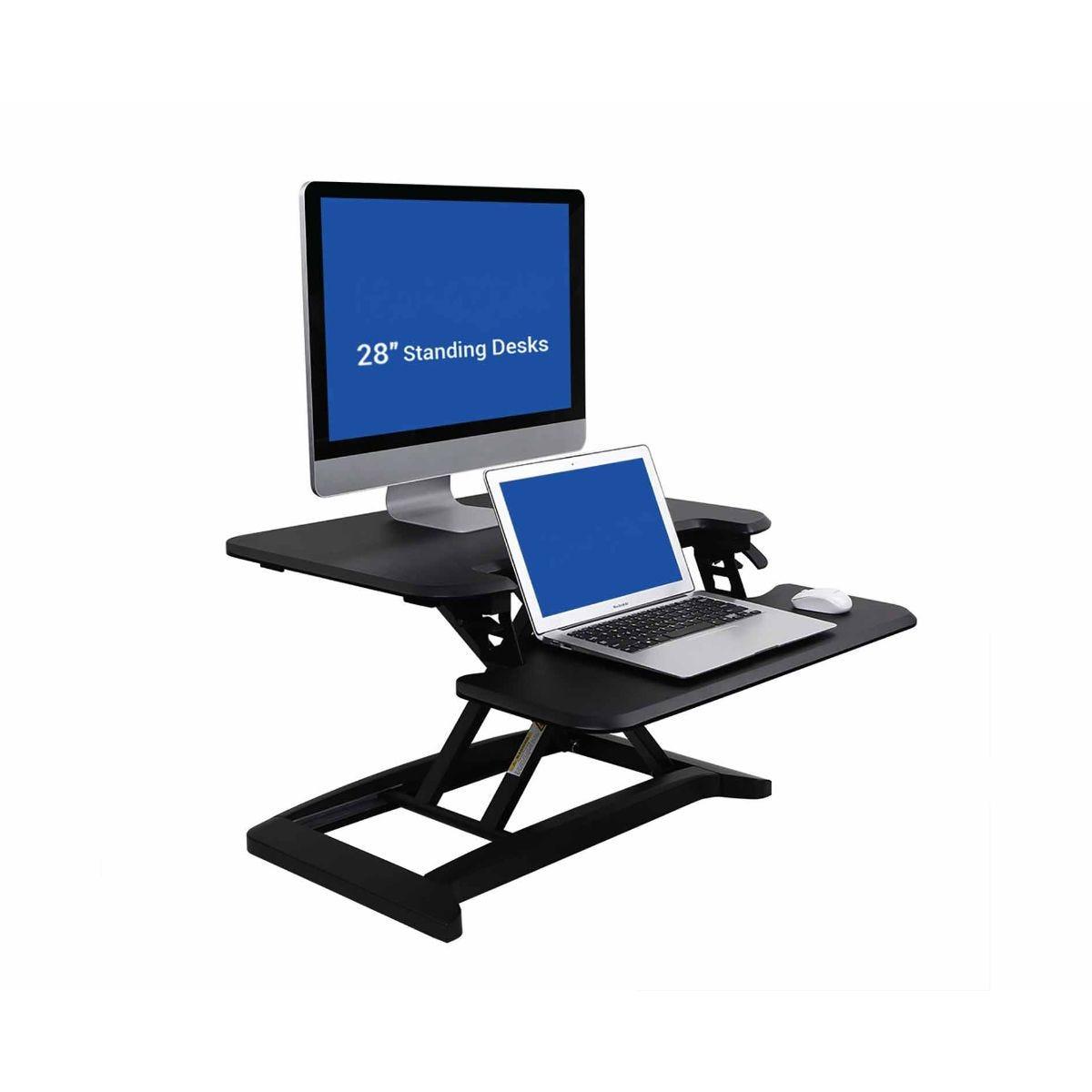 Incredible Sit Stand Workstation Large Base Download Free Architecture Designs Ferenbritishbridgeorg