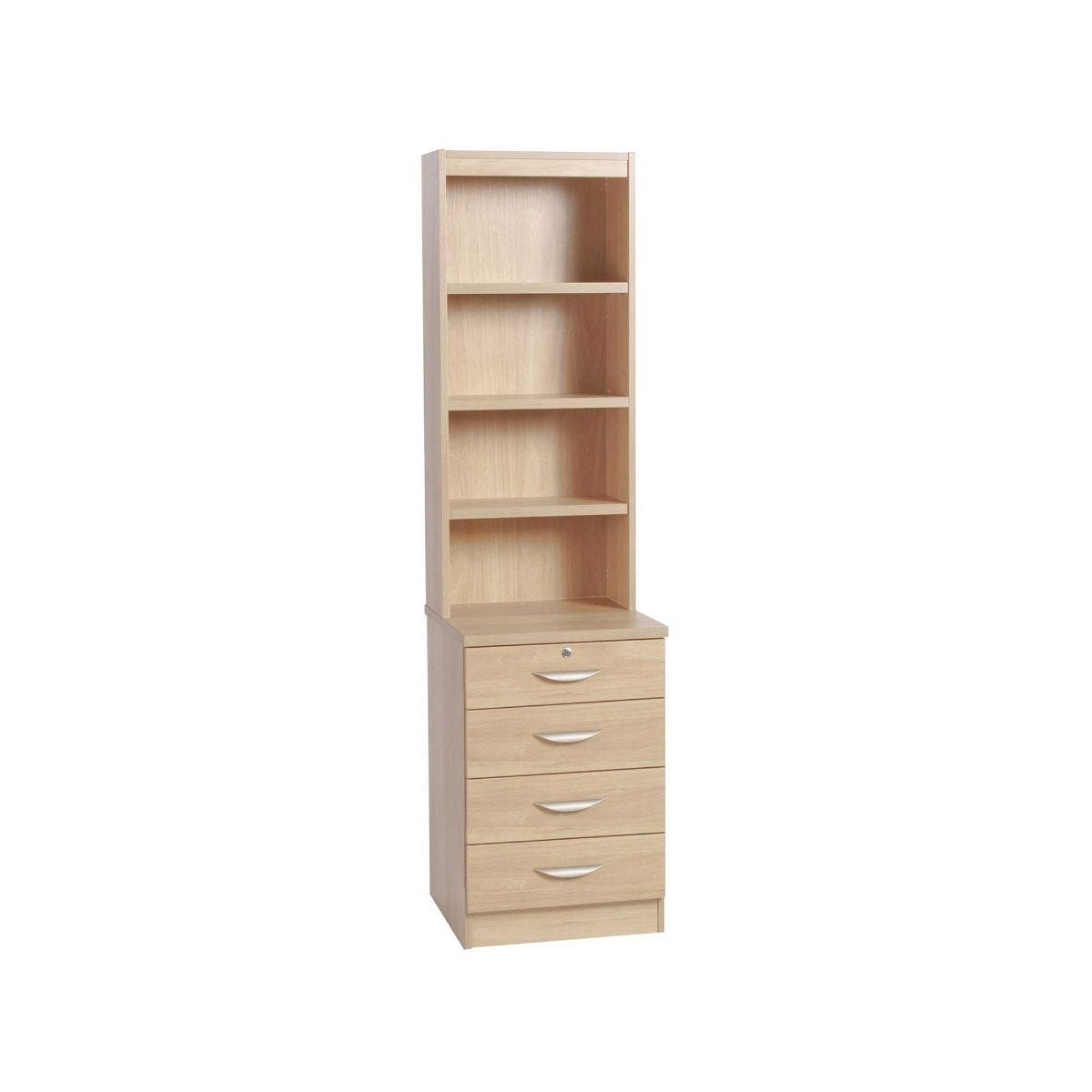 closet products birchbox drawer with modular shelf wood drawers closets organizer soli tower solid dovetail system