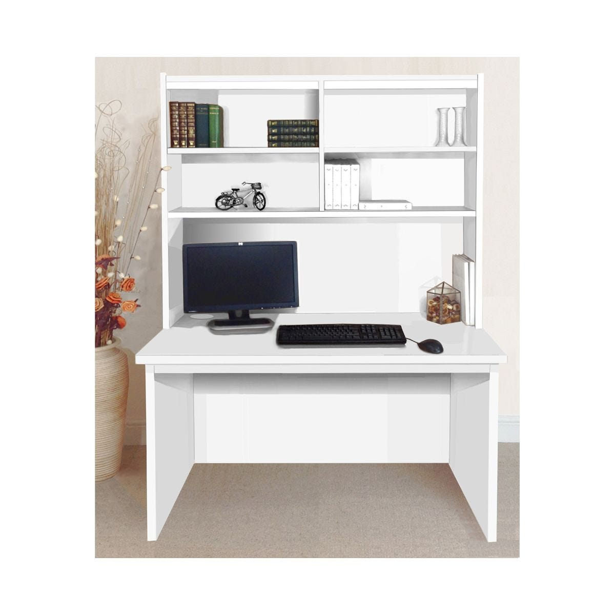 White home office desks desks furniture storage ryman