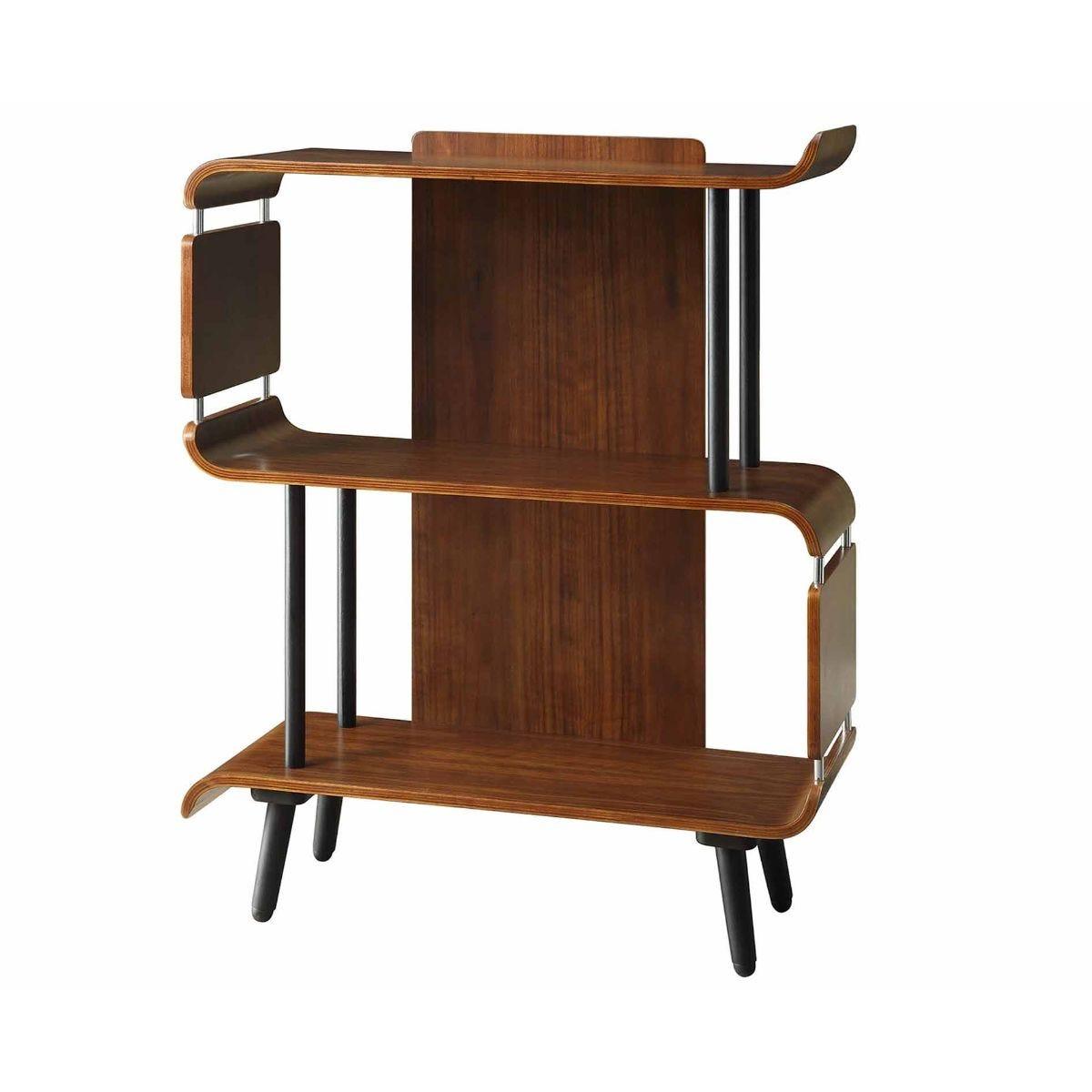 Jual Vienna Walnut Short Bookcase, Walnut