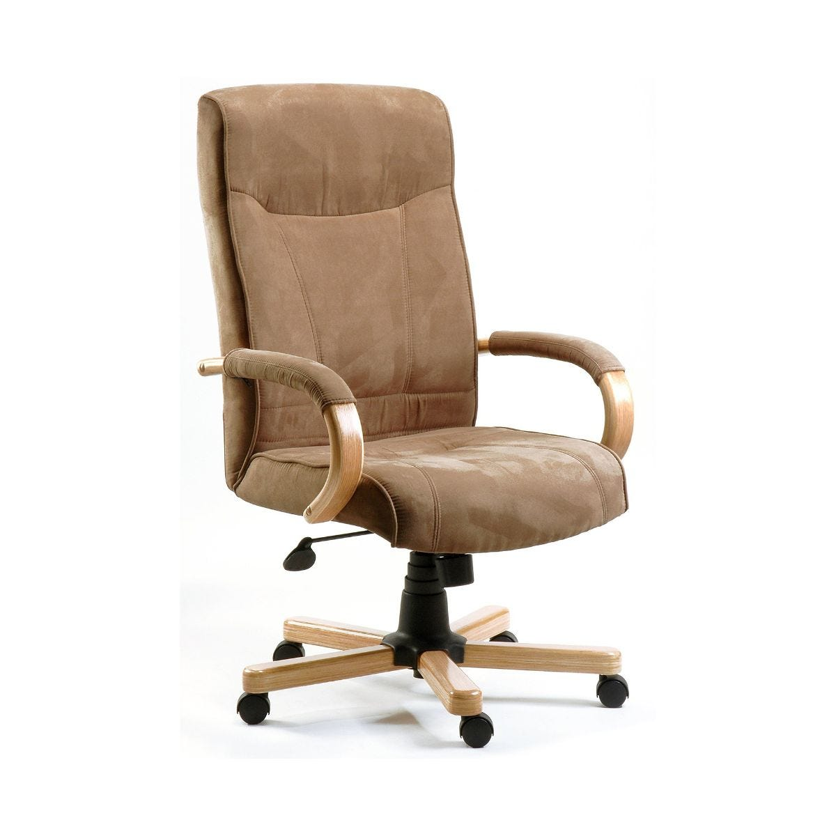 Teknik Office Guildford Suede Effect Executive Armchair