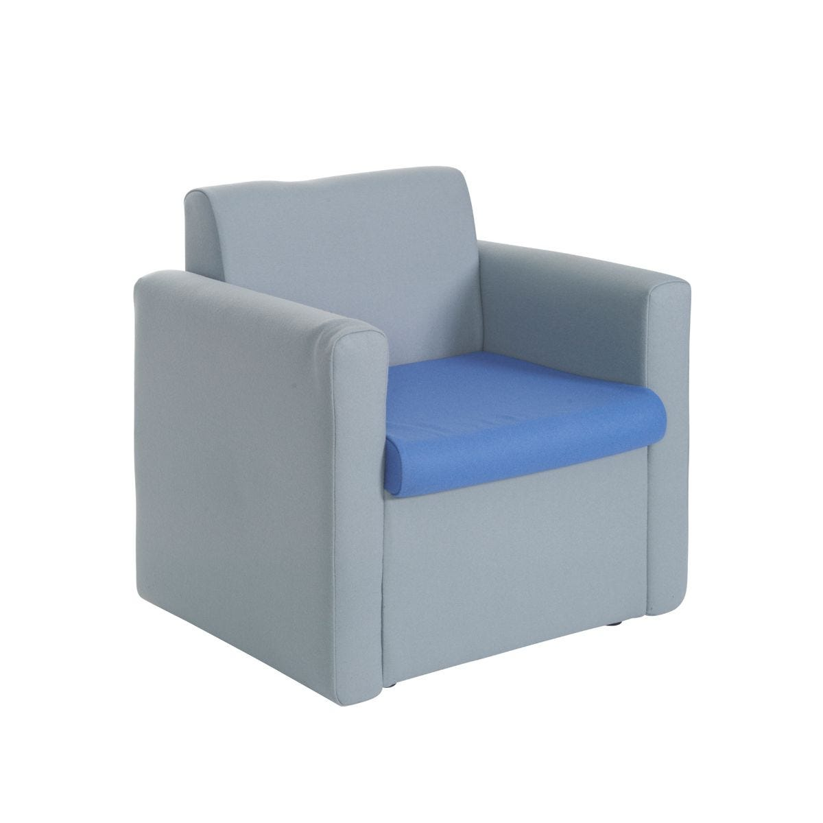 Alto Reception Unit Armchair, Blue