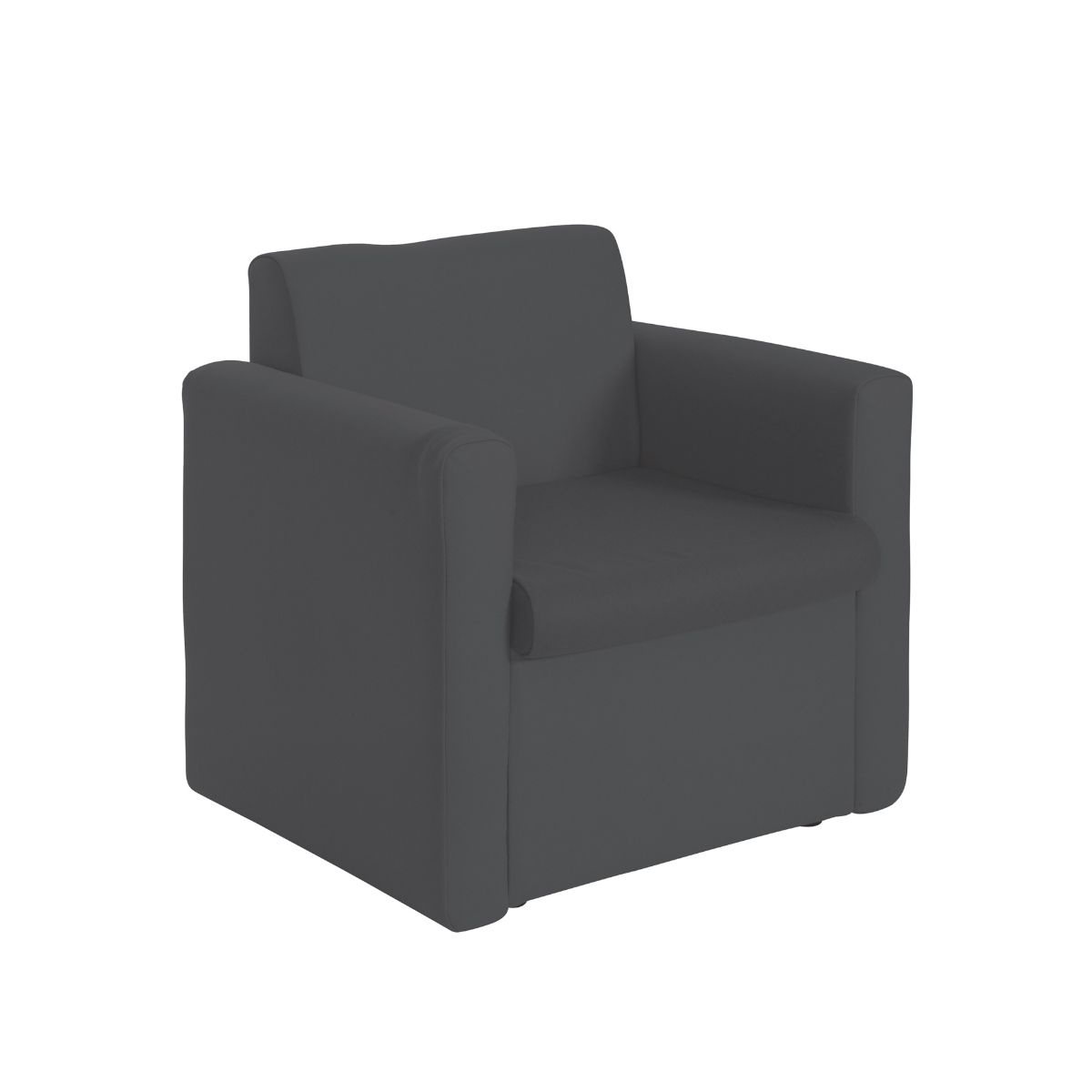 Alto Reception Unit Armchair, Charcoal