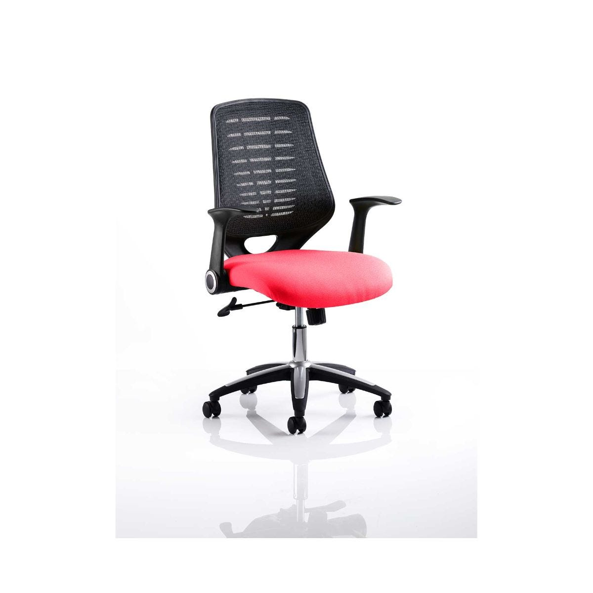 Relay Mesh Back Office Chair, Cherry