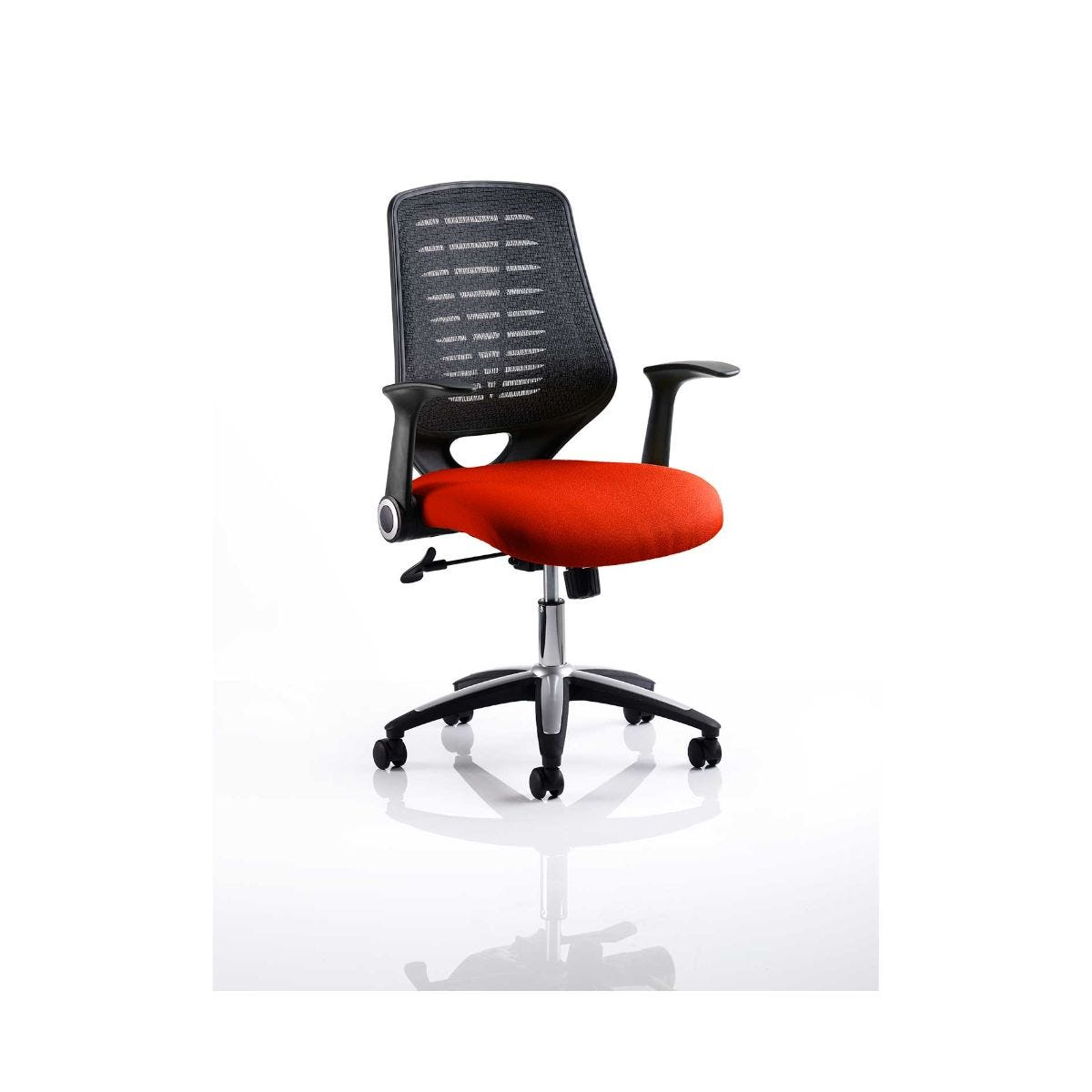 Relay Mesh Back Office Chair, Pimento