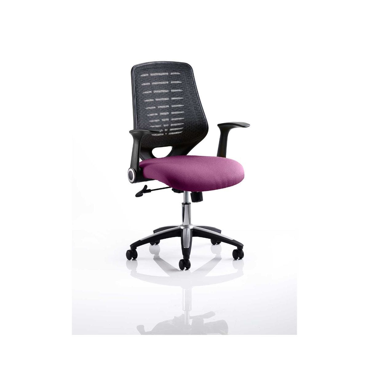 Relay Mesh Back Office Chair, Purple