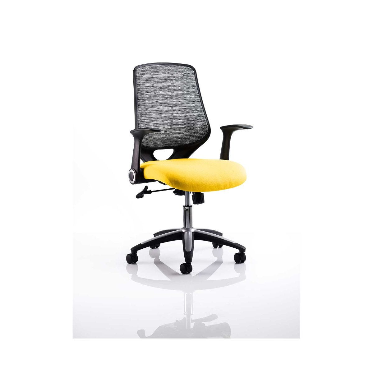 Relay Mesh Back Office Chair Silver, Sunset