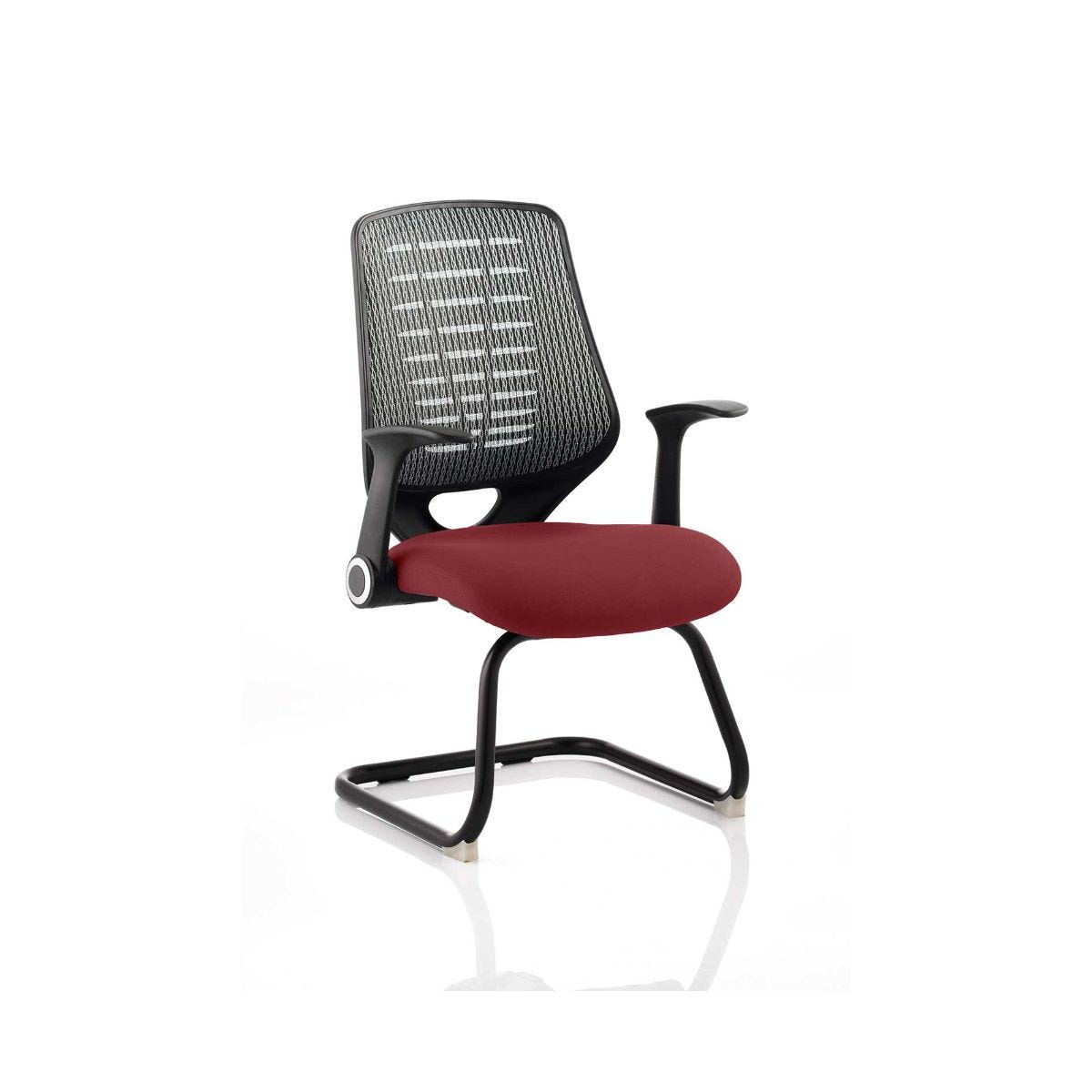 Relay Silver Back Office Chair, Ginseng