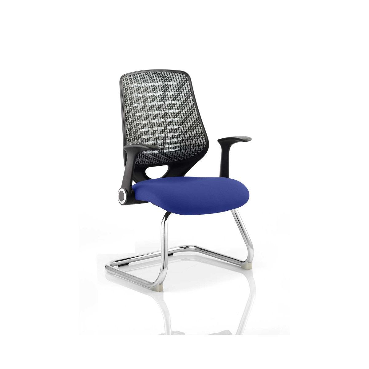 Relay Silver Back Office Chair, Stevia