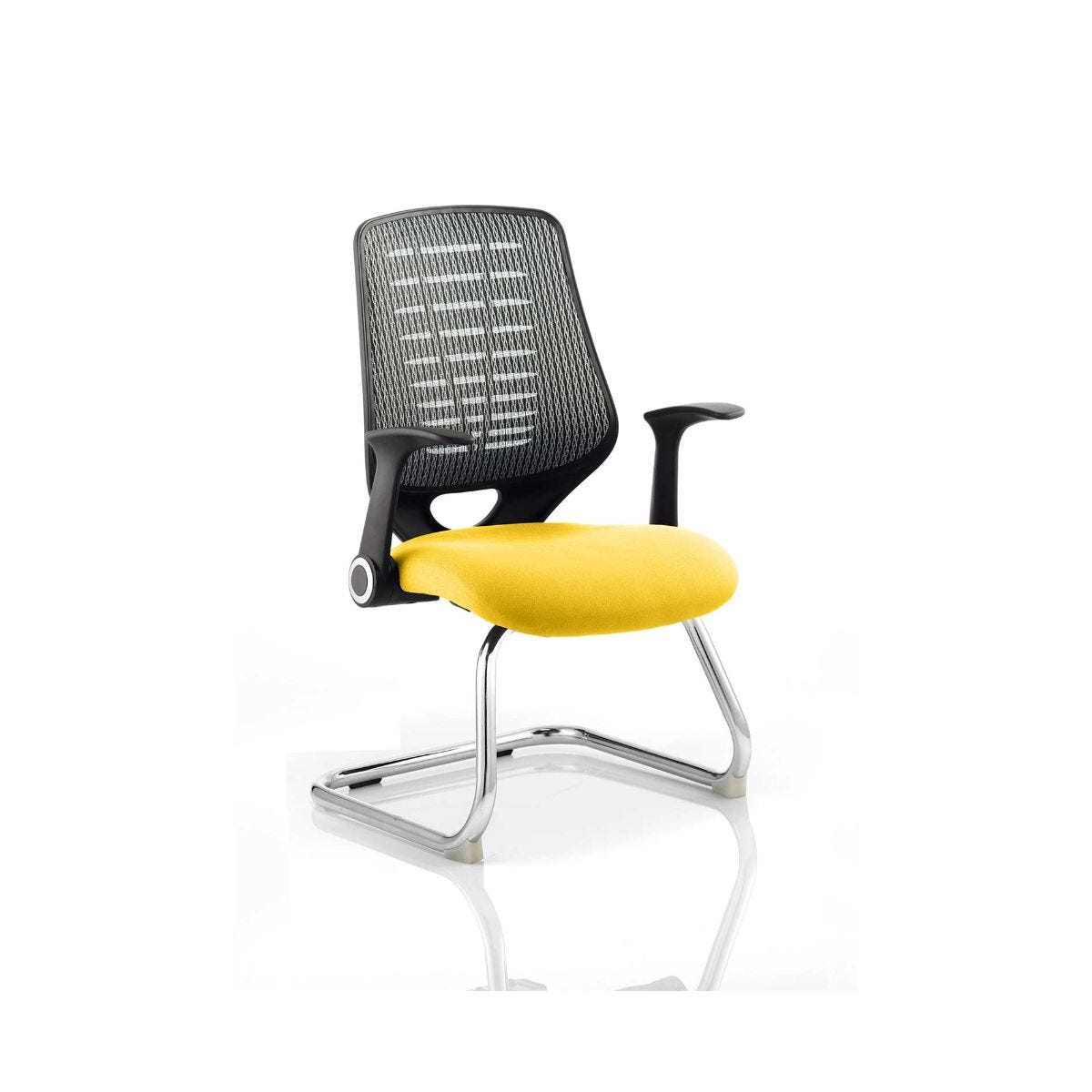 Relay Silver Back Office Chair, Senna