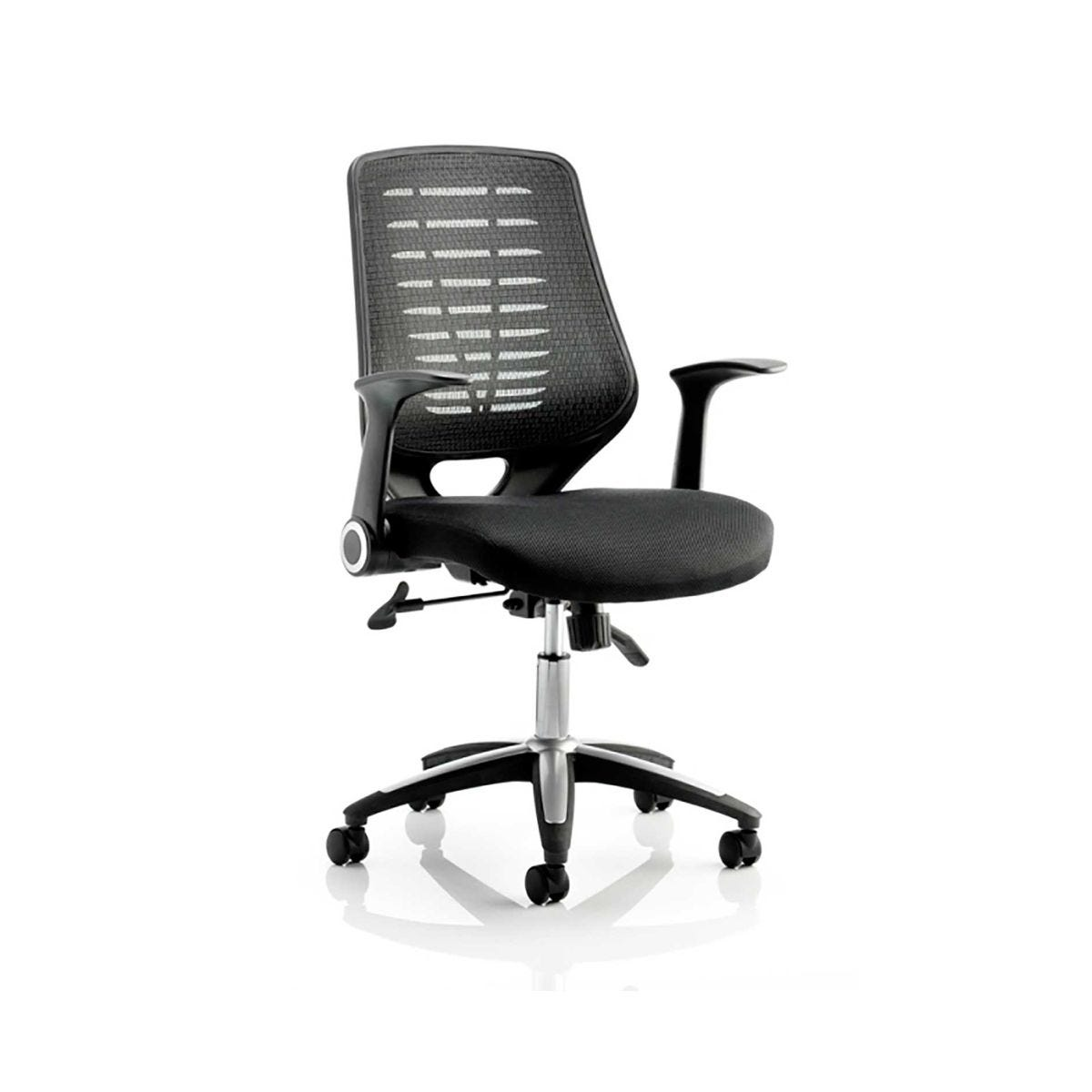 Relay Air Mesh Office Chair, Black
