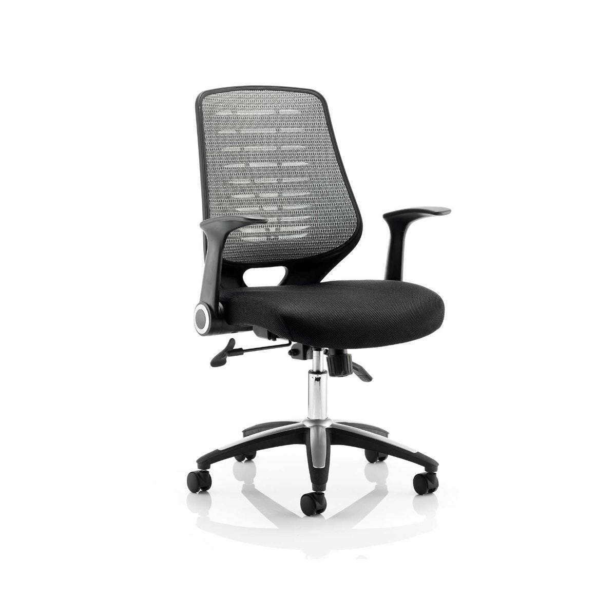 Relay Air Mesh Office Chair, Silver