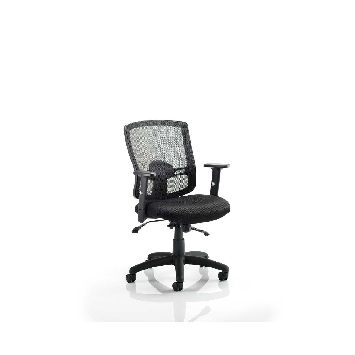 Portland Office Chair, Black