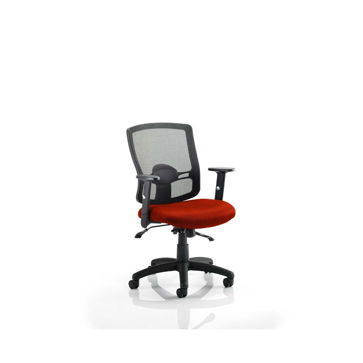 Portland Colour Office Chair, Tabasco