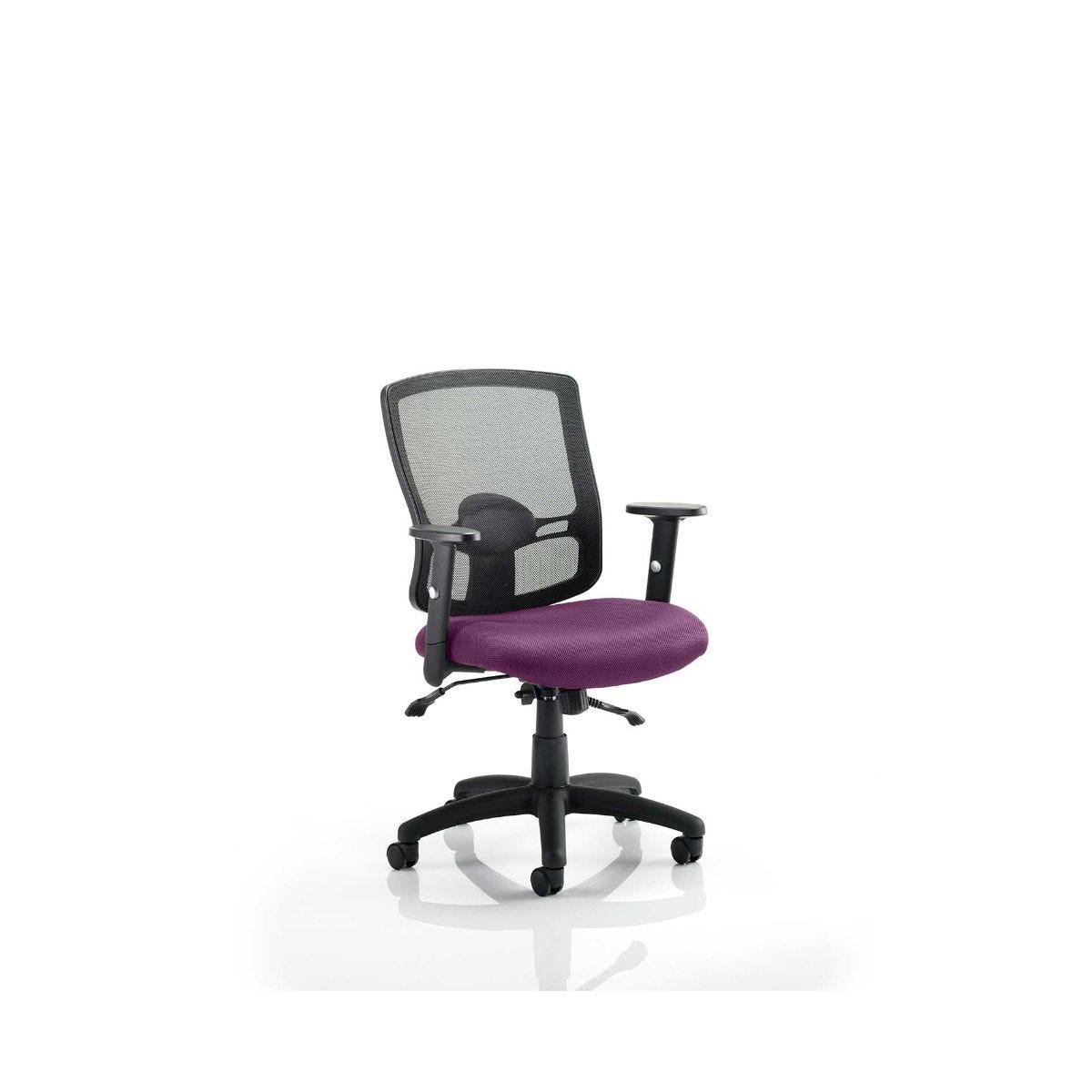 Portland Colour Office Chair, Purple