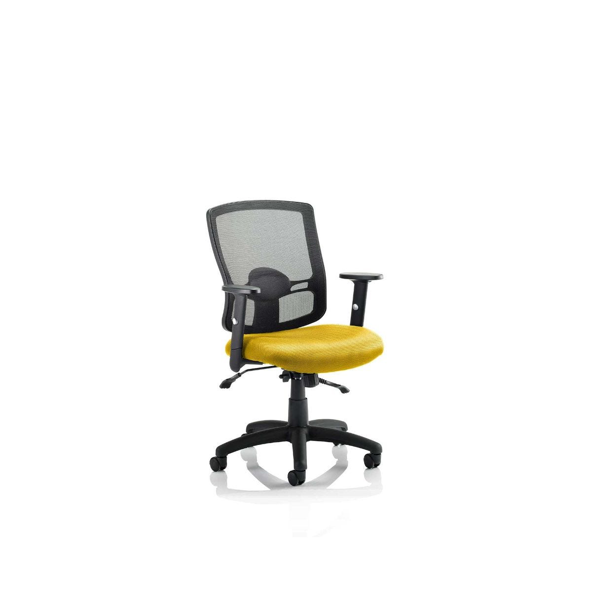 Portland Colour Office Chair, Sunset
