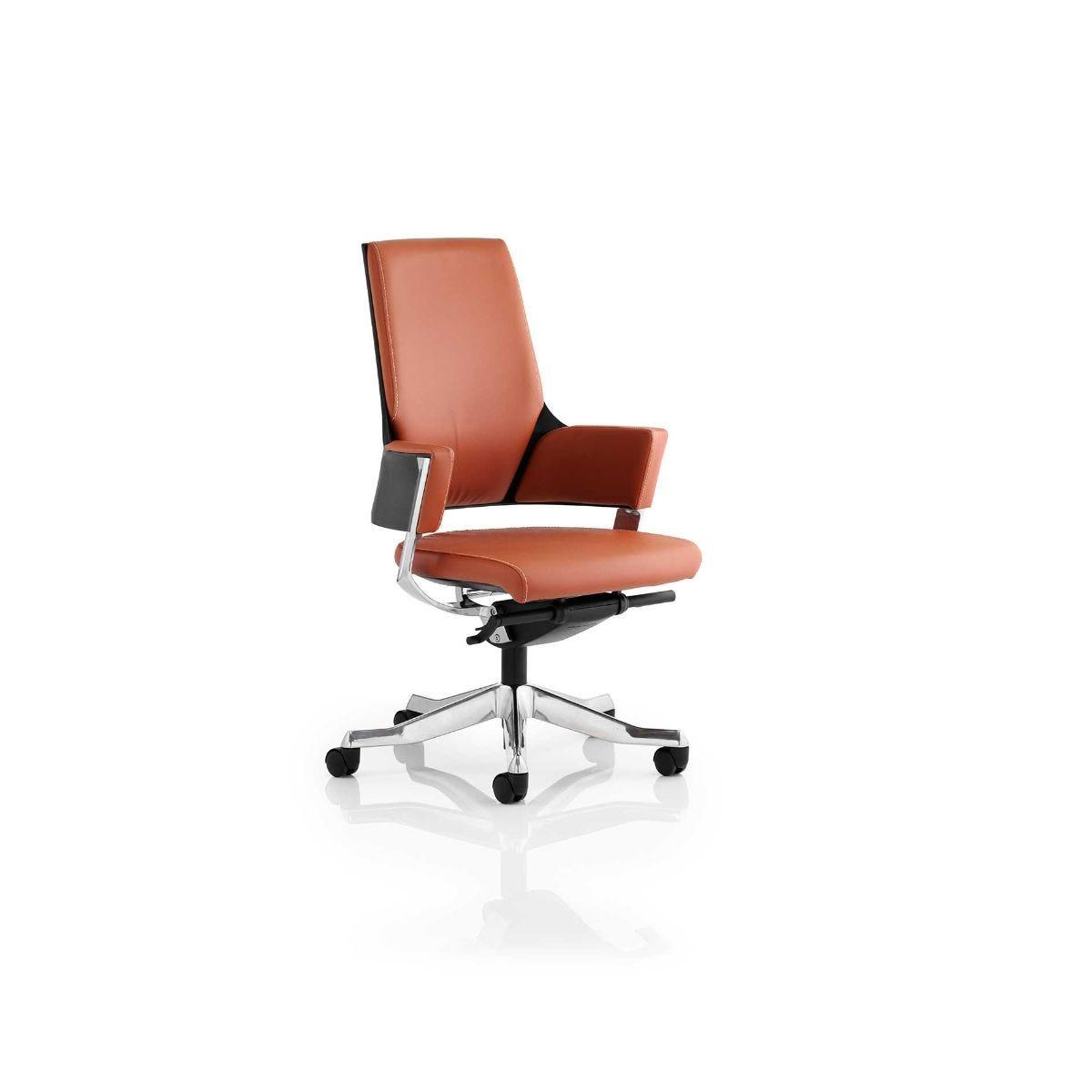 Enterprise Executive Medium Back Office Chair, Tan